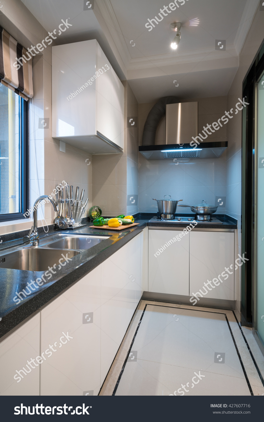 Cabinet D Architecte Nice modern kitchen nice cabinet stock photo (edit now) 427607716