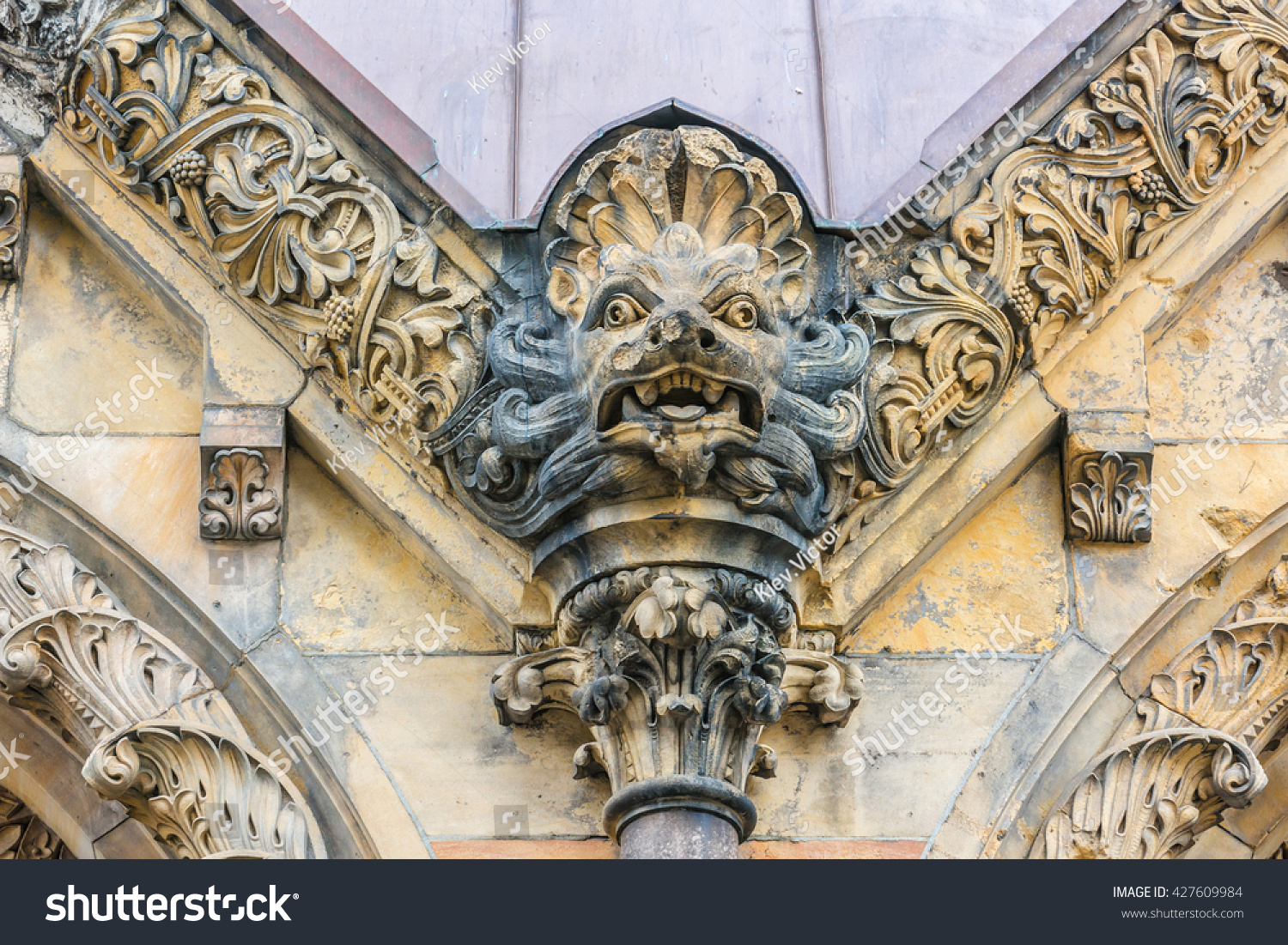 Royalty Free Architectural Detail Of Kaiser Wilhelm 427609984