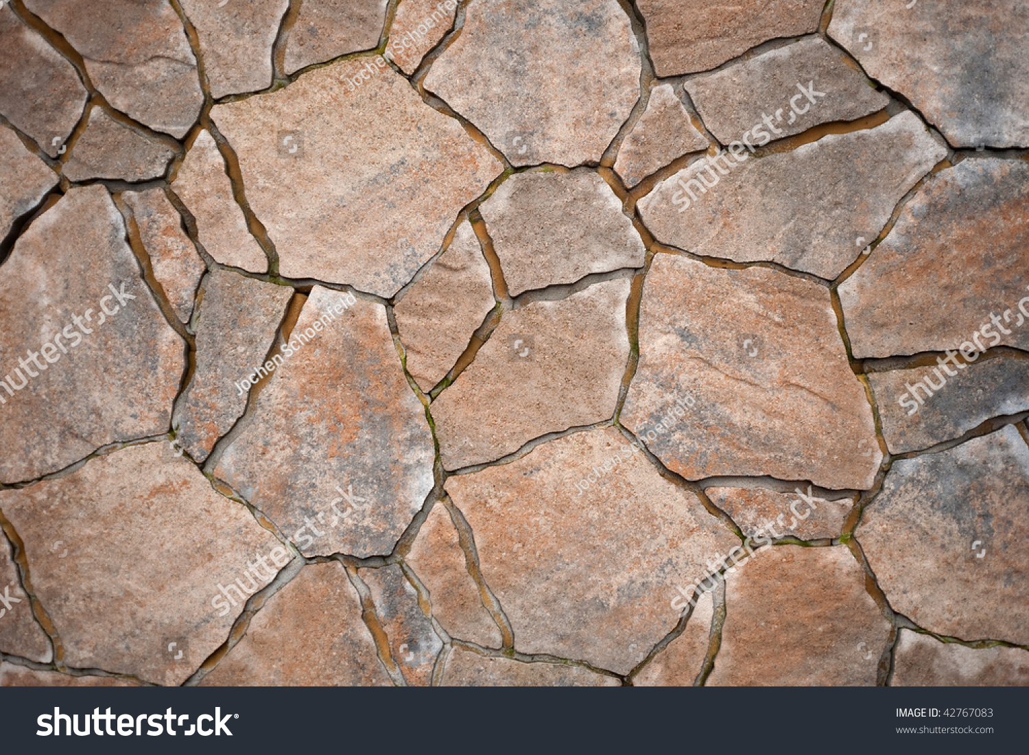 Natural Stone Pavers : Background paving stones irregular natural stock
