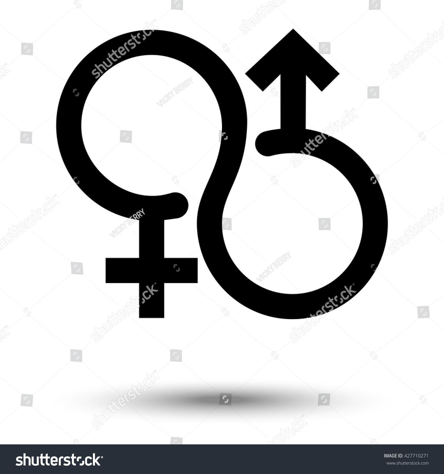 Woman man symbol stock vector 427710271 shutterstock woman and man symbol biocorpaavc