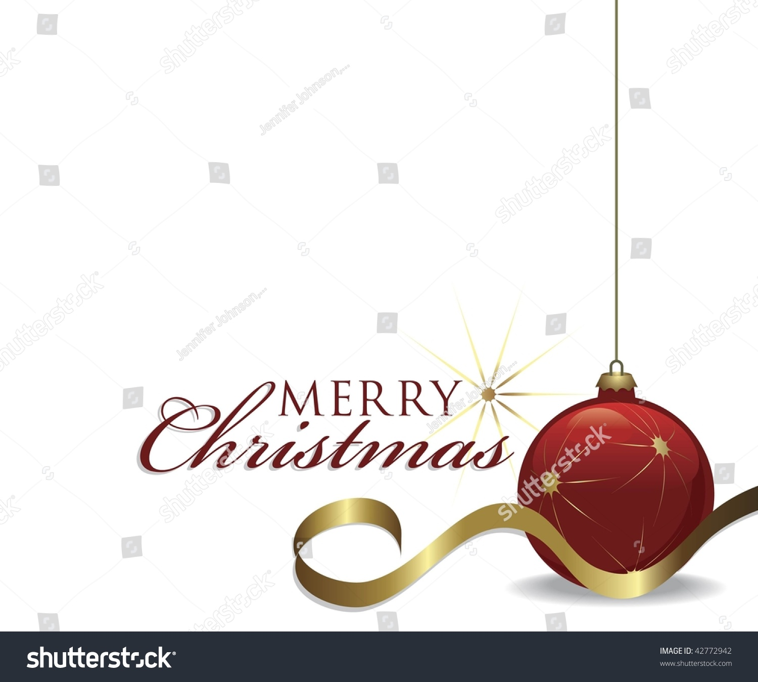 vector christmas design card layout merry stock vector