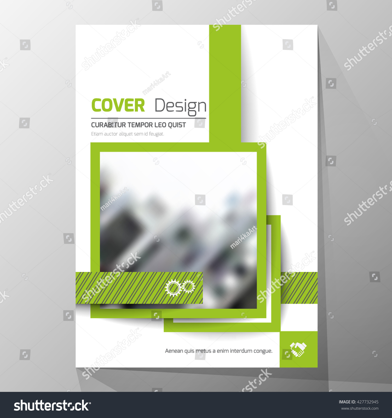 modern cover design layout brochure template stock vector royalty