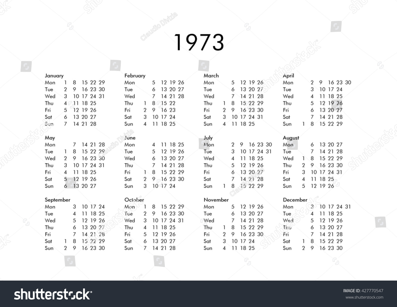 June 1973 Calendar Www Topsimages Com