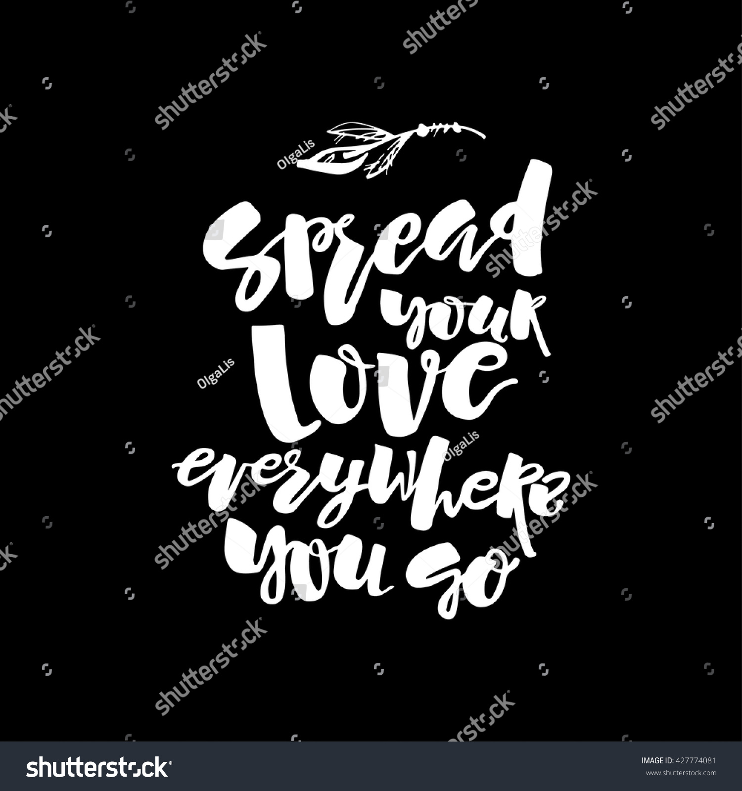 Love charity concept hand lettering motivation stock vector love and charity concept hand lettering motivation poster artistic design for a logo greeting kristyandbryce Image collections