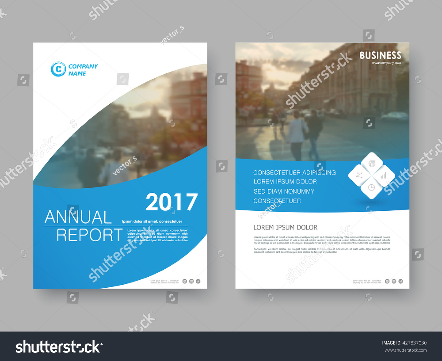 Book Front Cover Layout ~ Annual report flyer presentation brochure front stock