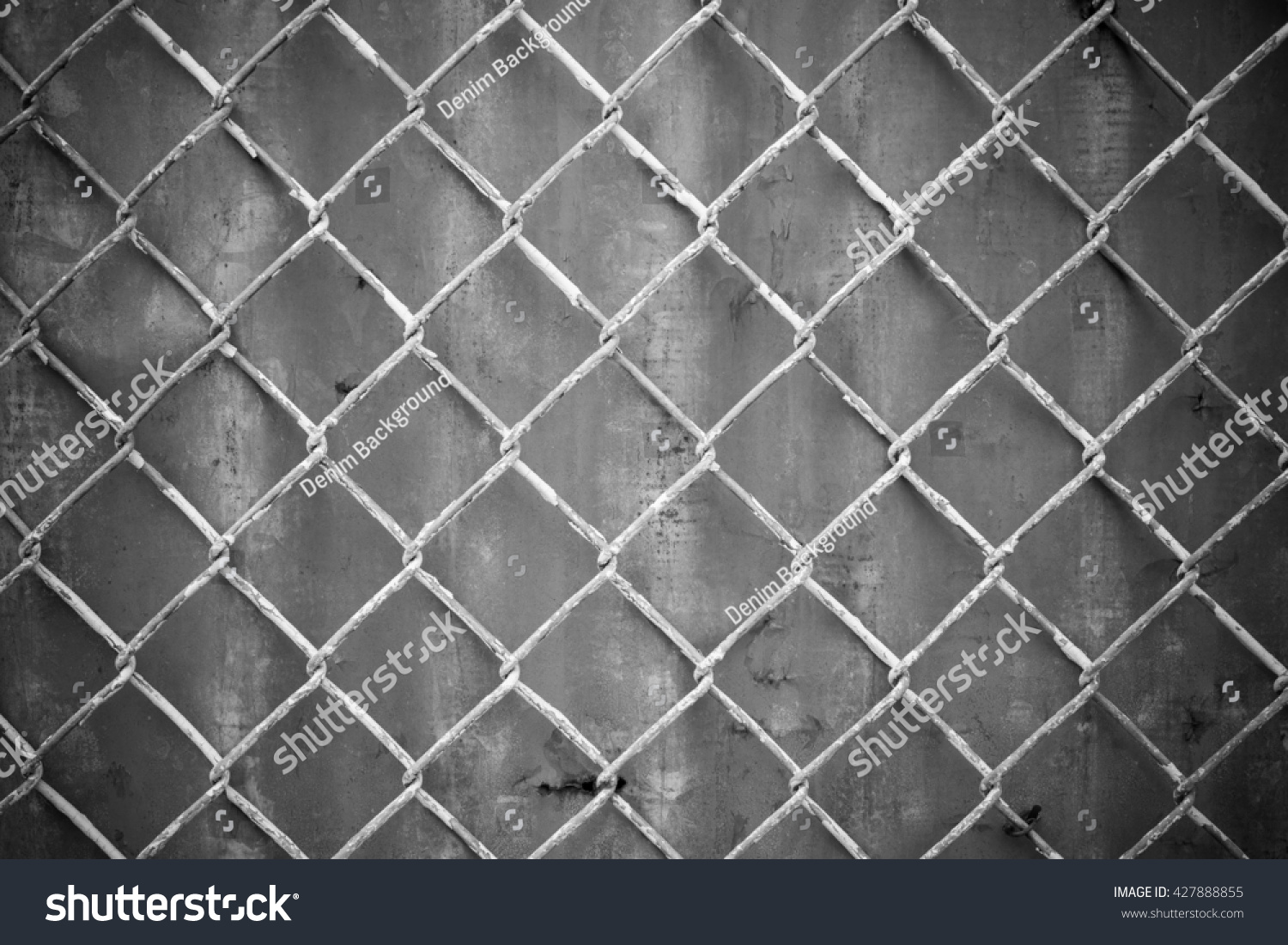 Steel Wire Mesh On Rusty Galvanized Stock Photo (Royalty Free ...