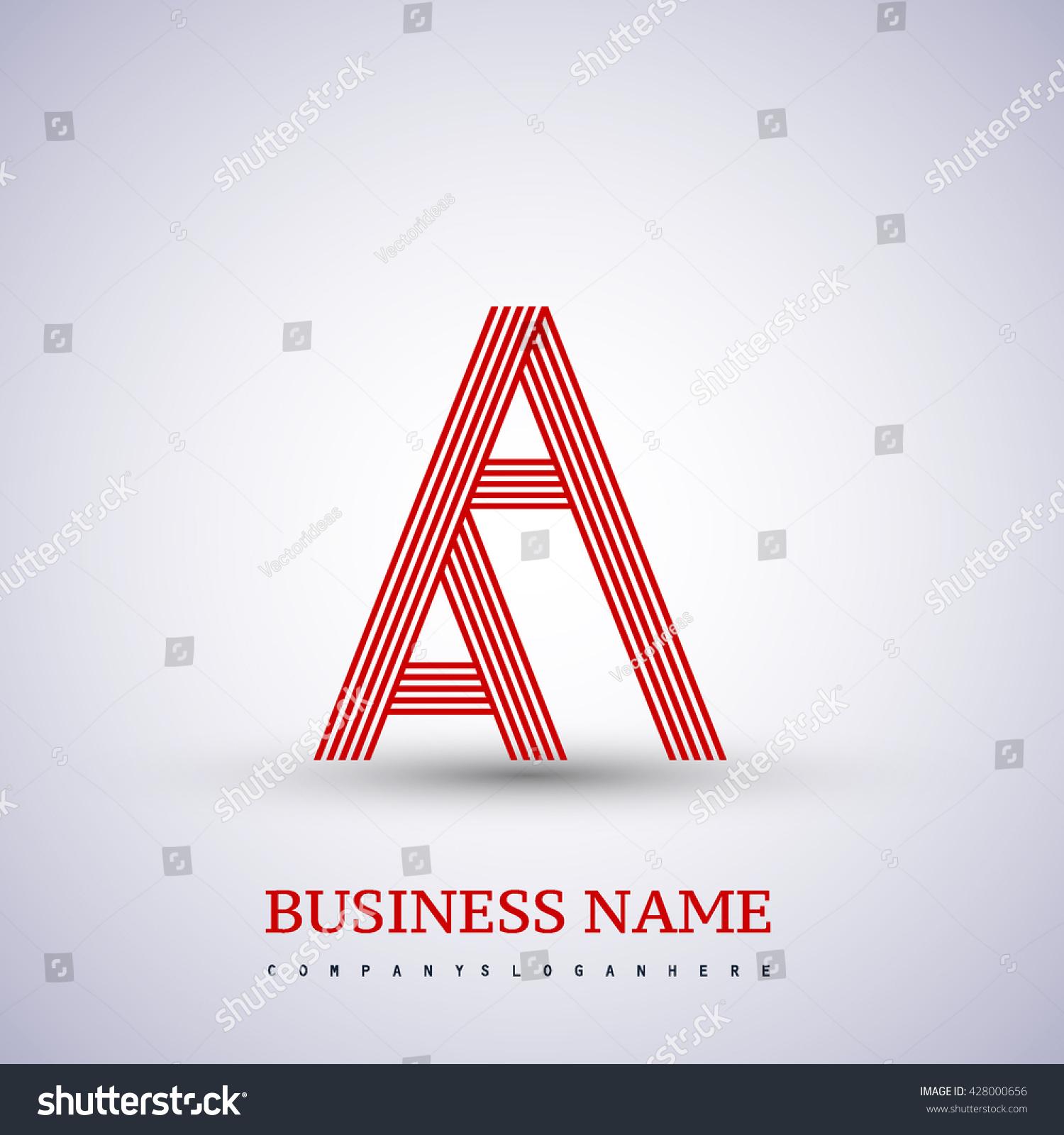 Letter aa linked logo design symbol stock vector 428000656 letter aa linked logo design symbol for your business or company identity buycottarizona