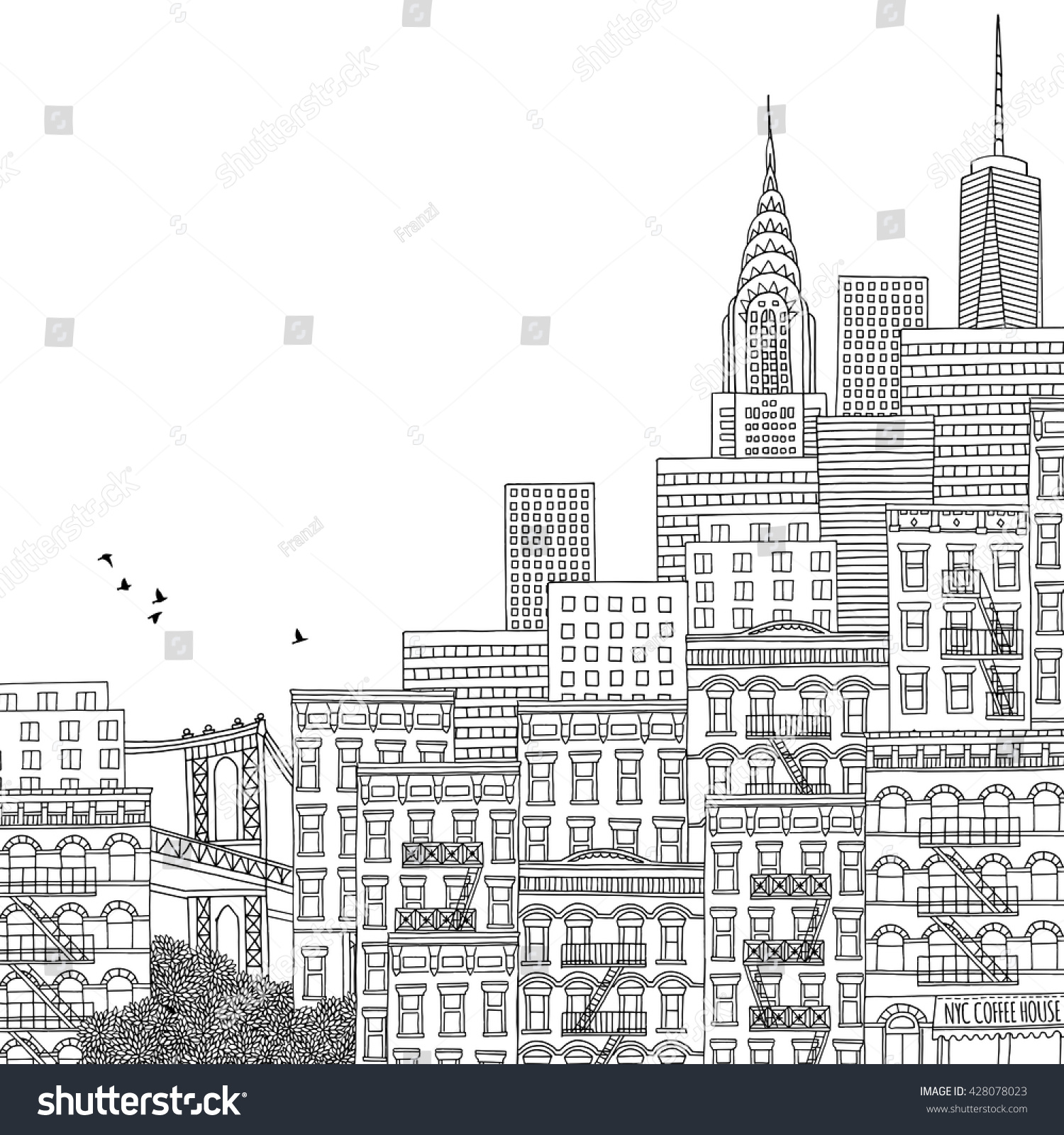 Coloring books for adults new yorker fun coloring pages for Fun activities for adults in nyc