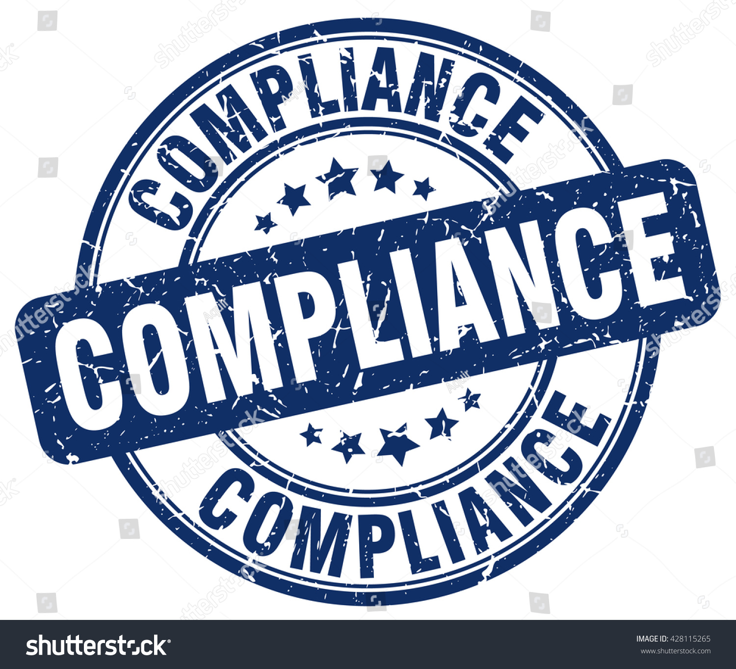 Compliance Stamp Stock Vector 428115265 - Shutterstock