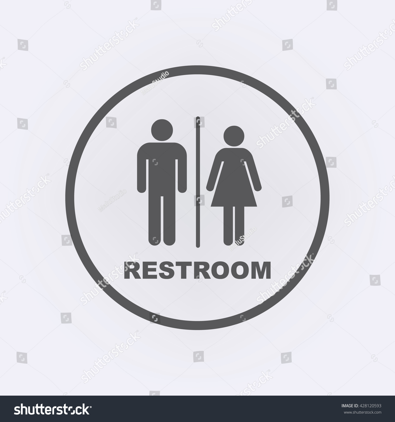 Toilet signs vector set stock images image 36323784 - Man Lady Toilet Sign People Icon Stock Vector 428120593 Shutterstock Stock Vector A Man And A