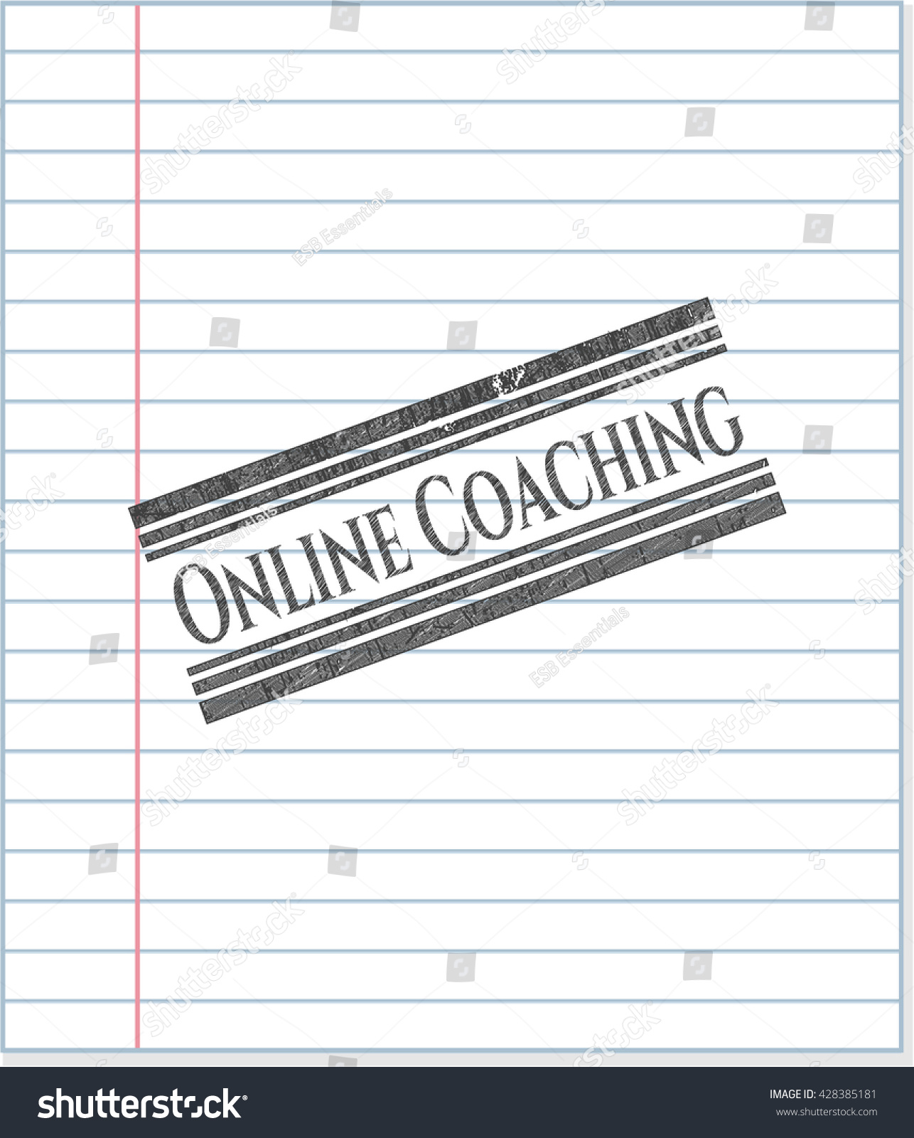 Online coaching pencil draw