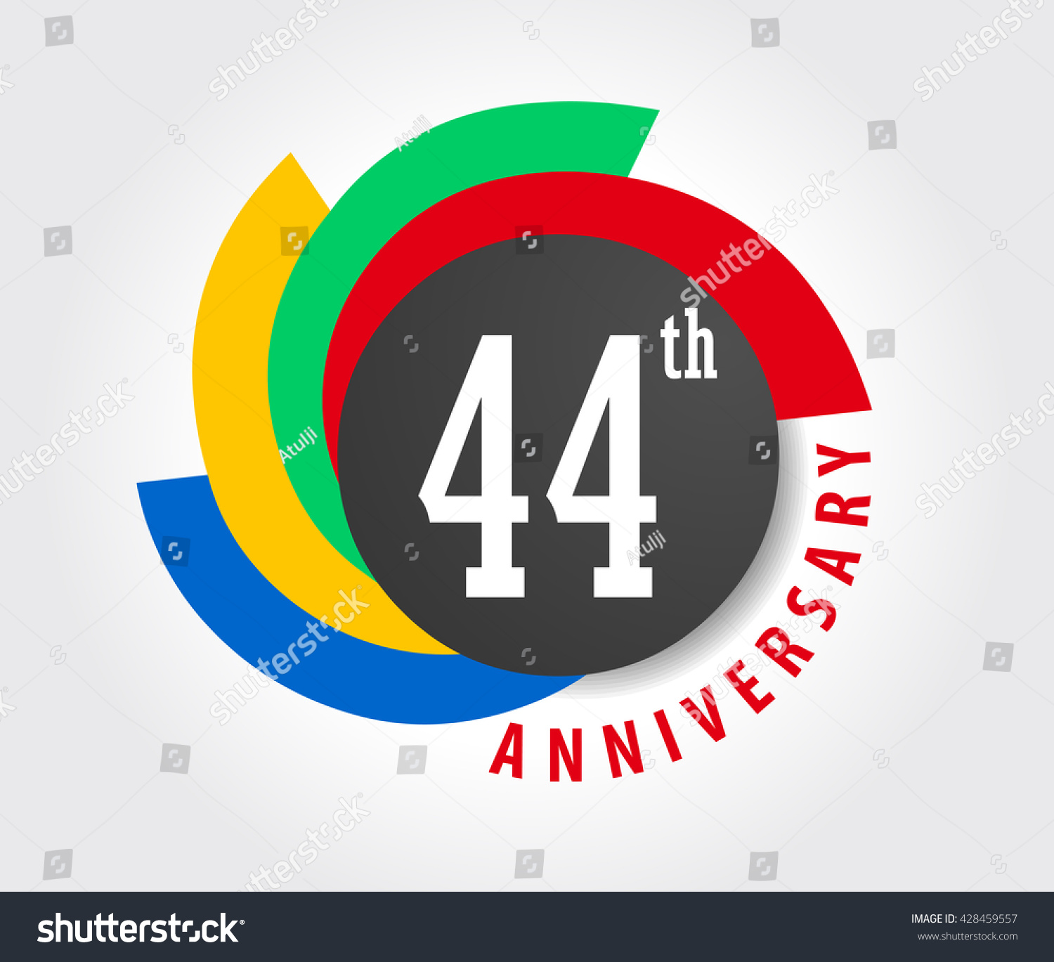 44th anniversary celebration background 44 years stock vector 44th anniversary celebration background 44 years anniversary card illustration vector eps10 biocorpaavc Gallery