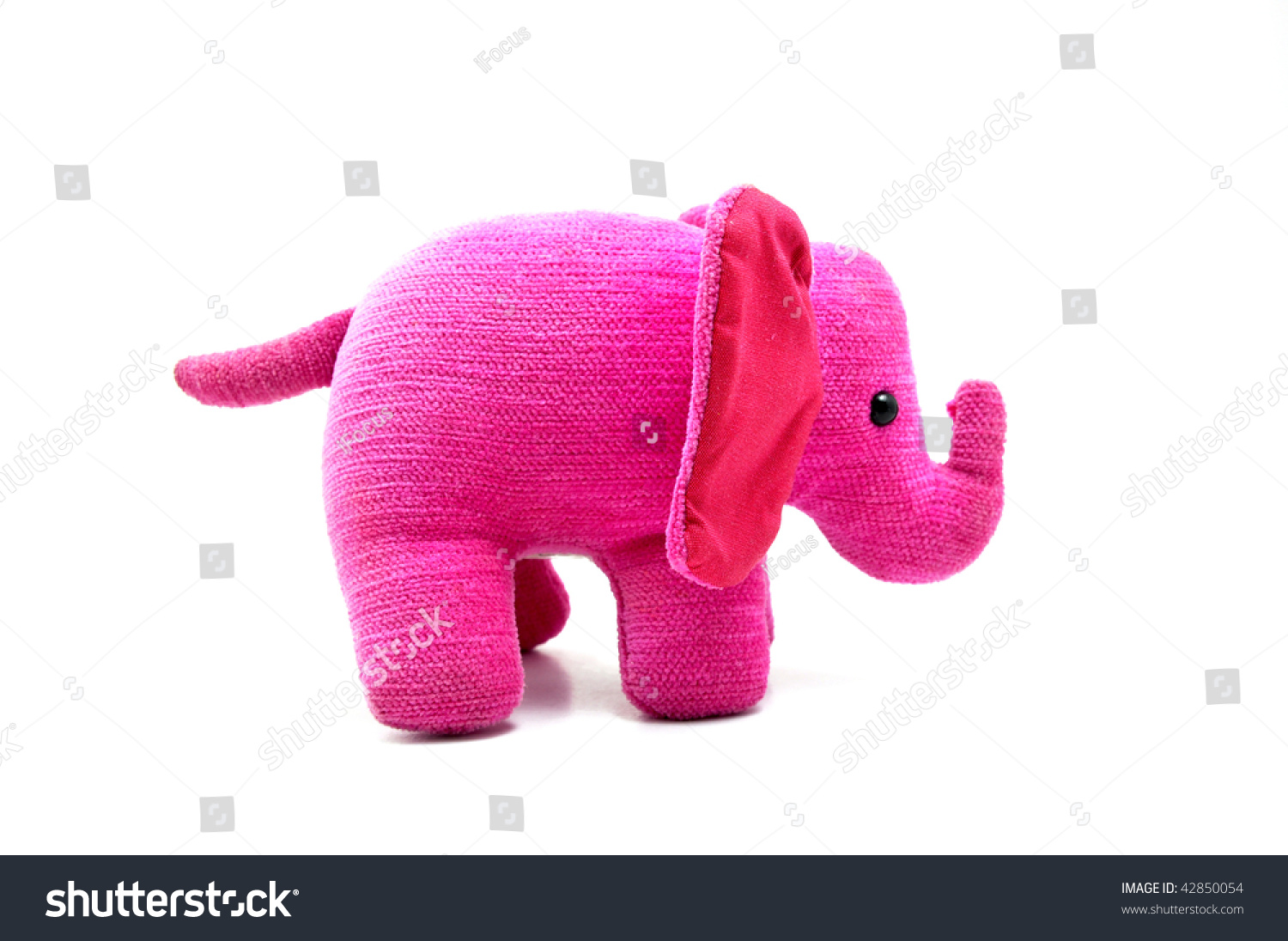 Sweet and soft pink elephant, a perfect gift for home or decoration