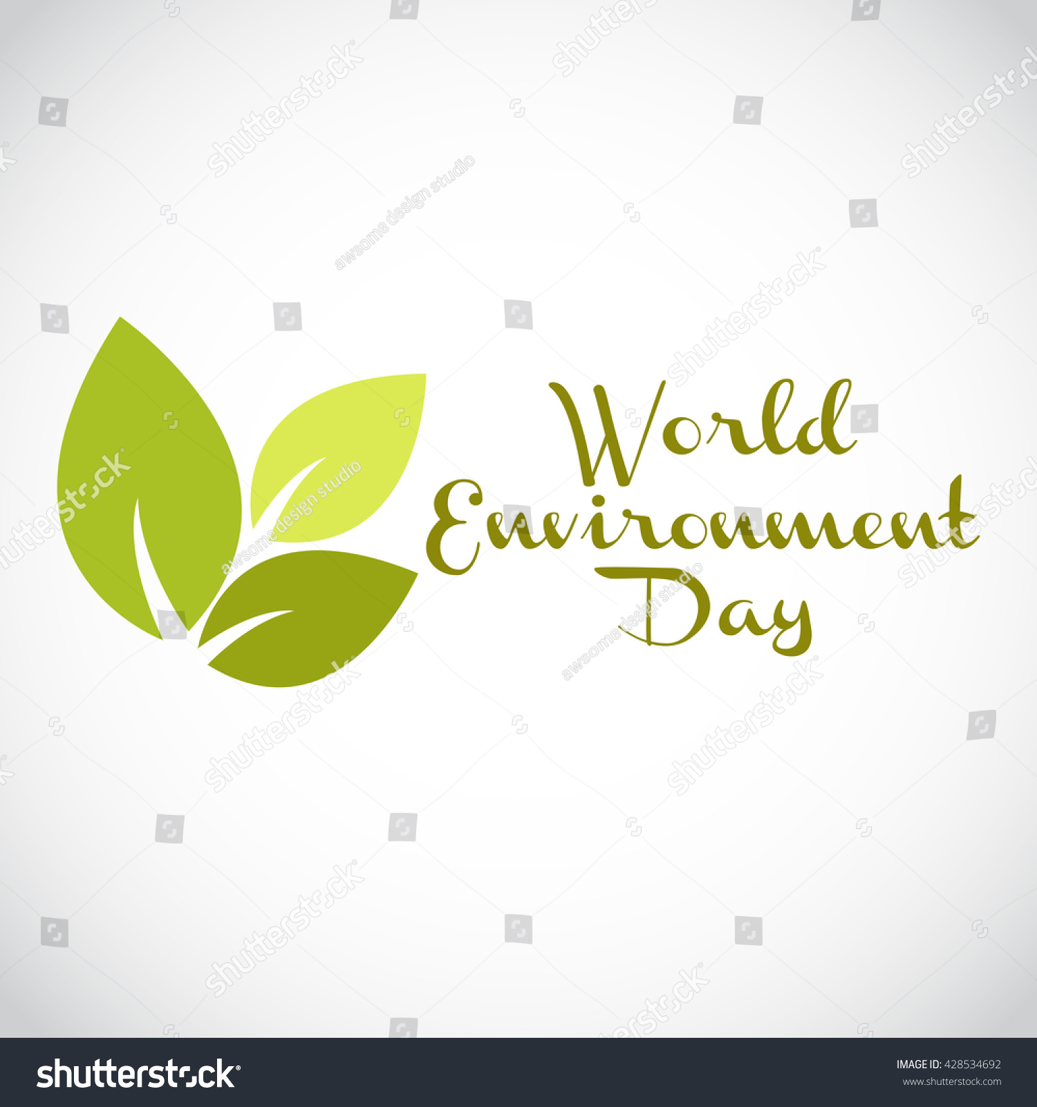 Poster design environment day - Vector Illustration Eco Poster Eco Banner Or Eco Card For World Environment Day With