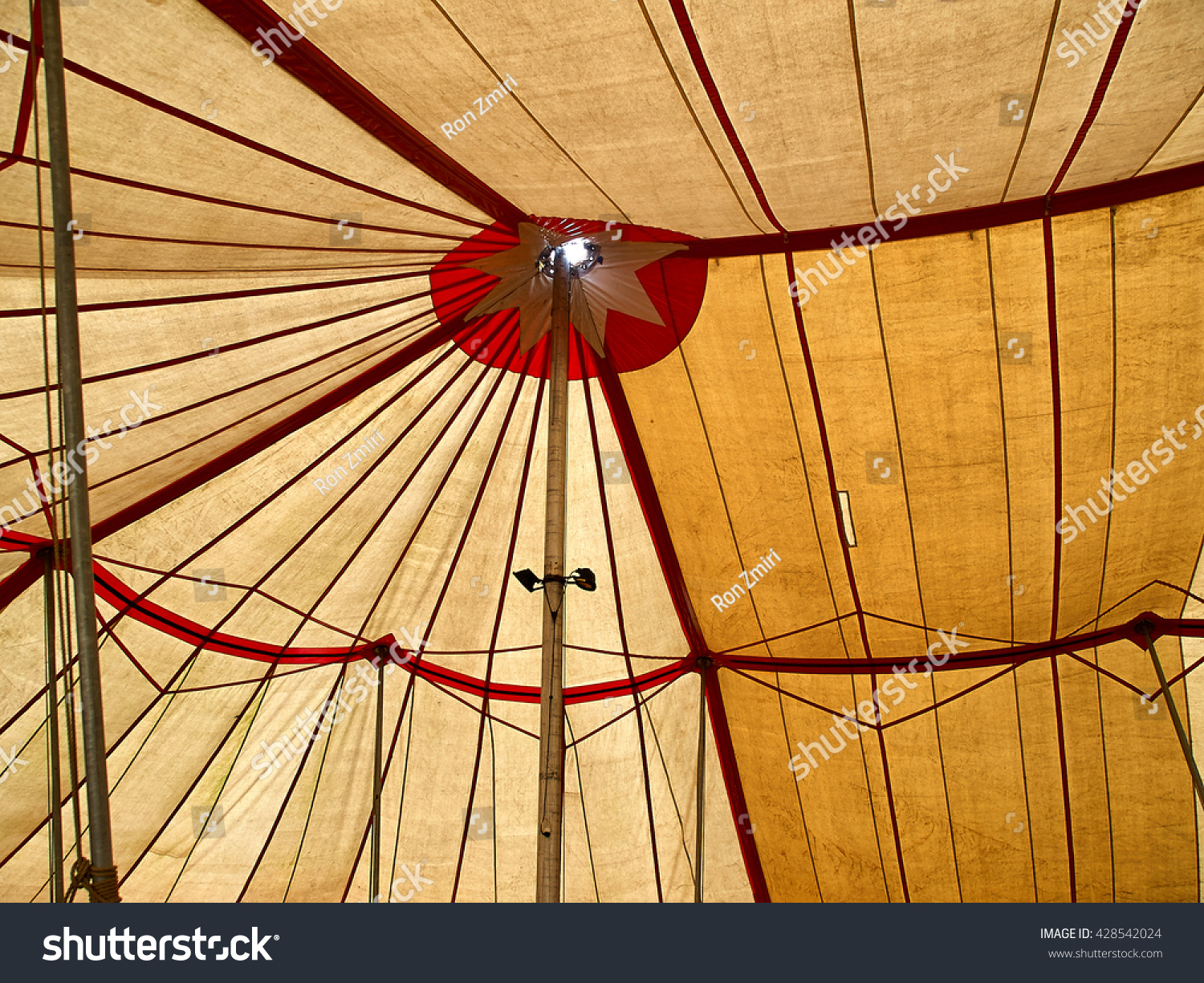 Big top traditional circus tent viewed from the inside  sc 1 st  Shutterstock & Big Top Traditional Circus Tent Viewed Stock Photo 428542024 ...