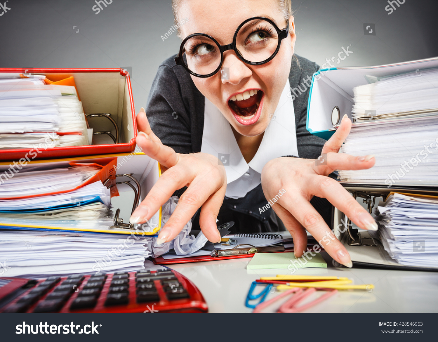 workaholism mental insanity weird job work stock photo  workaholism mental insanity weird job work company concept insane office w at work mad