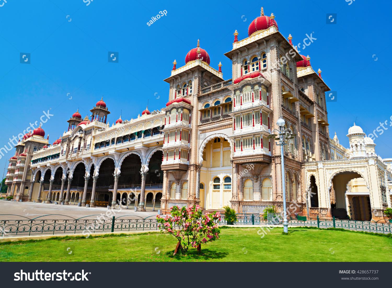 Mysore palace mysore karnataka state india stock photo 428657737 mysore palace mysore karnataka state india biocorpaavc Image collections
