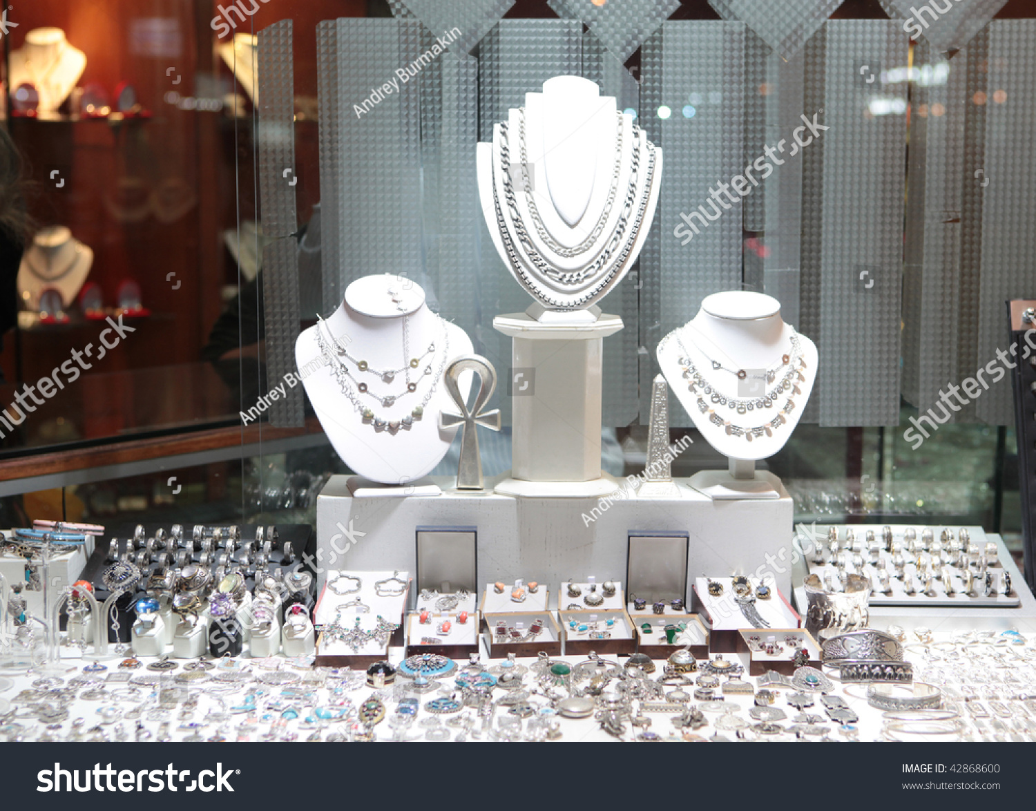 jewelry store showwindow stock photo 42868600 shutterstock