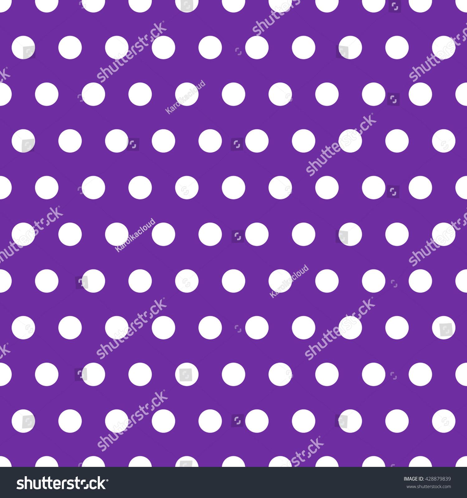 Abstract Polka Dot Seamless Pattern Retro Stock Vector Royalty Free