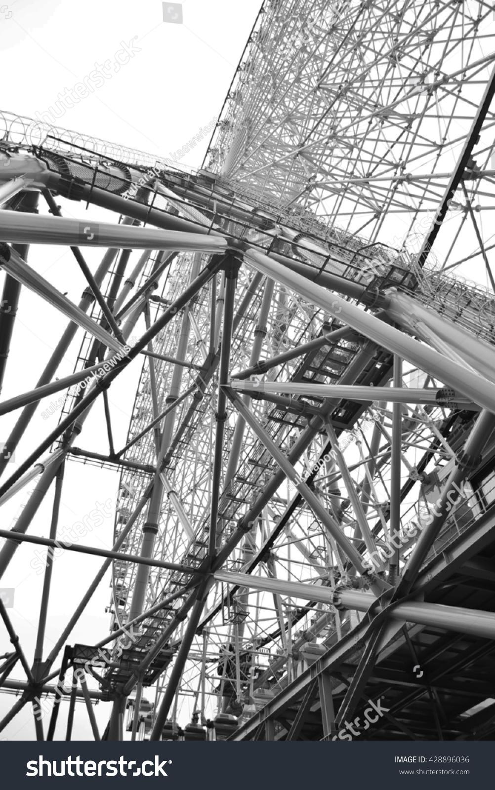 Steel Scaffolding Japan : Ferris whee osaka japan stock photo shutterstock