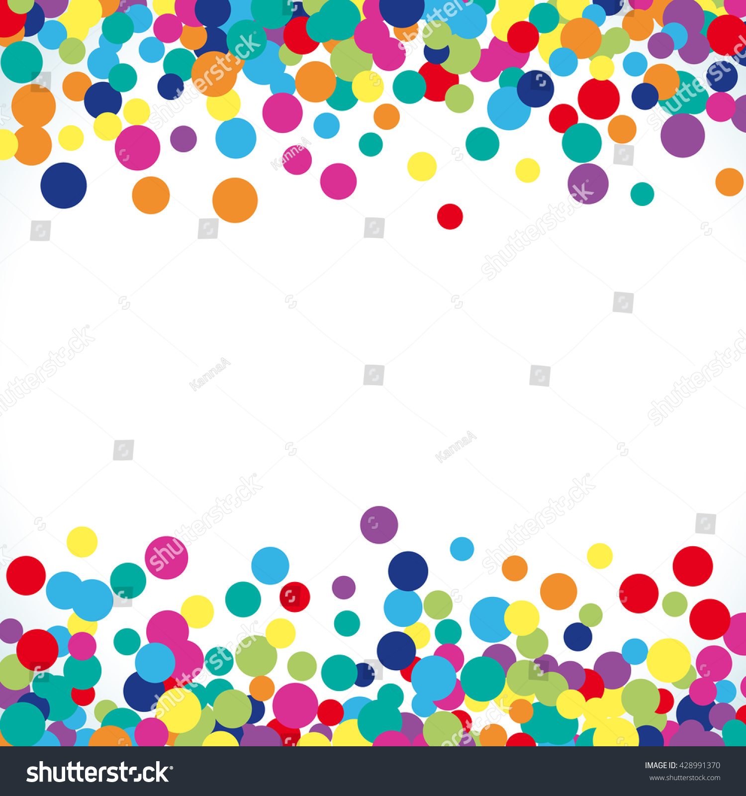 Colorful abstract dot background vector illustration stock for Fun pattern wallpaper