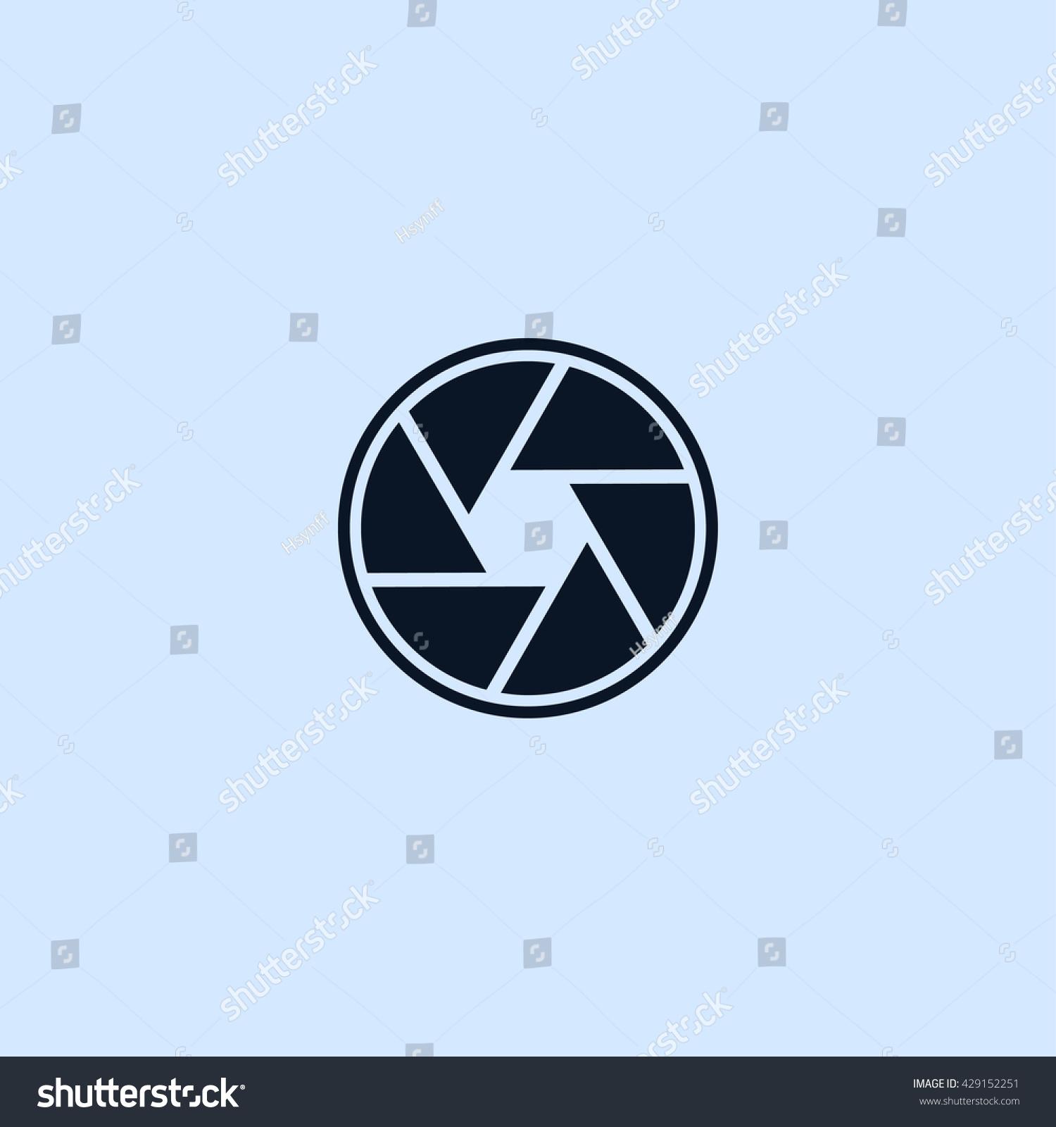 aperture icon. aperture sign