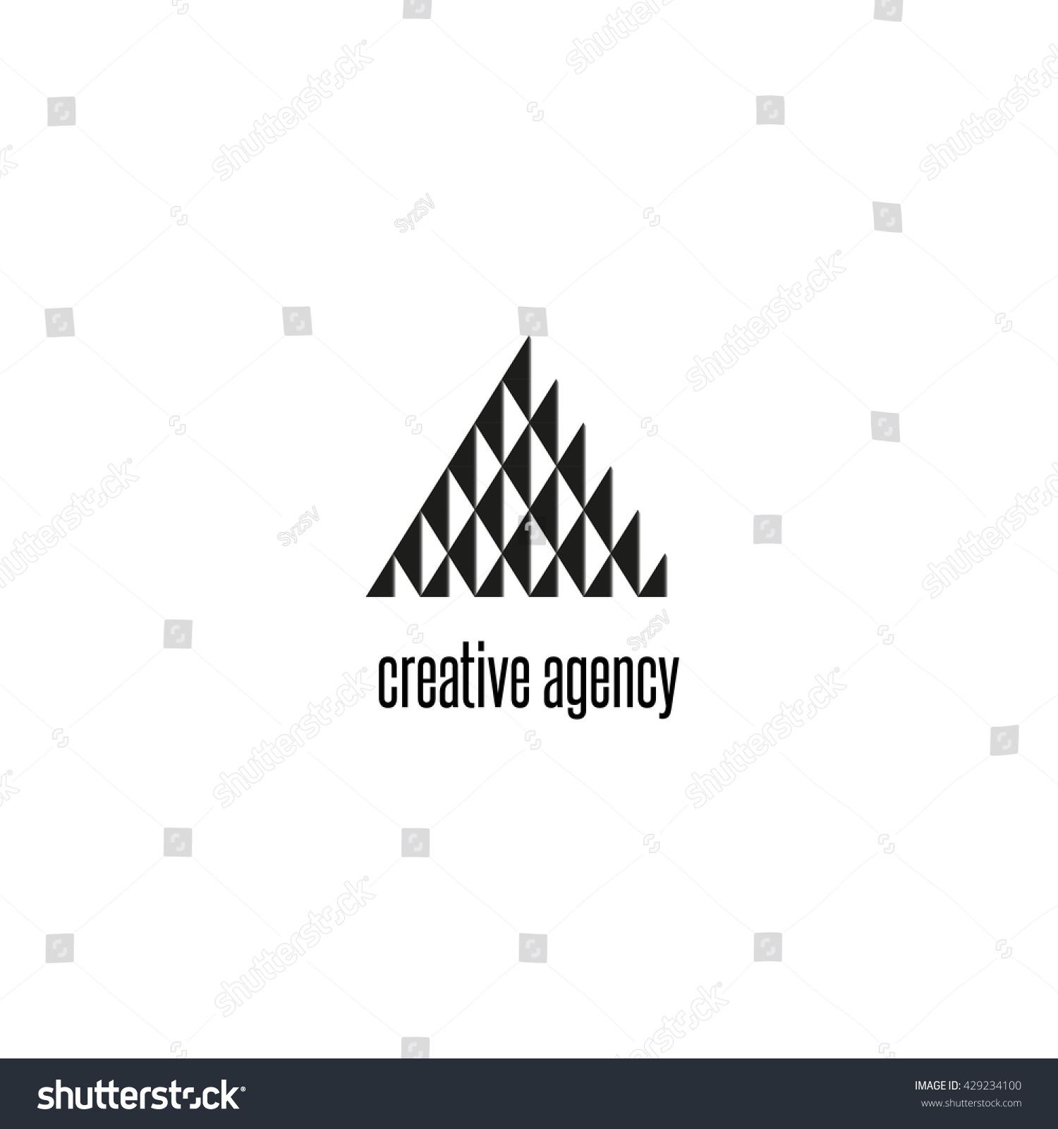 Triangle logo modern black white geometric stock vector 429234100 triangle logo modern black and white geometric shape tech brend business card emblem magicingreecefo Choice Image