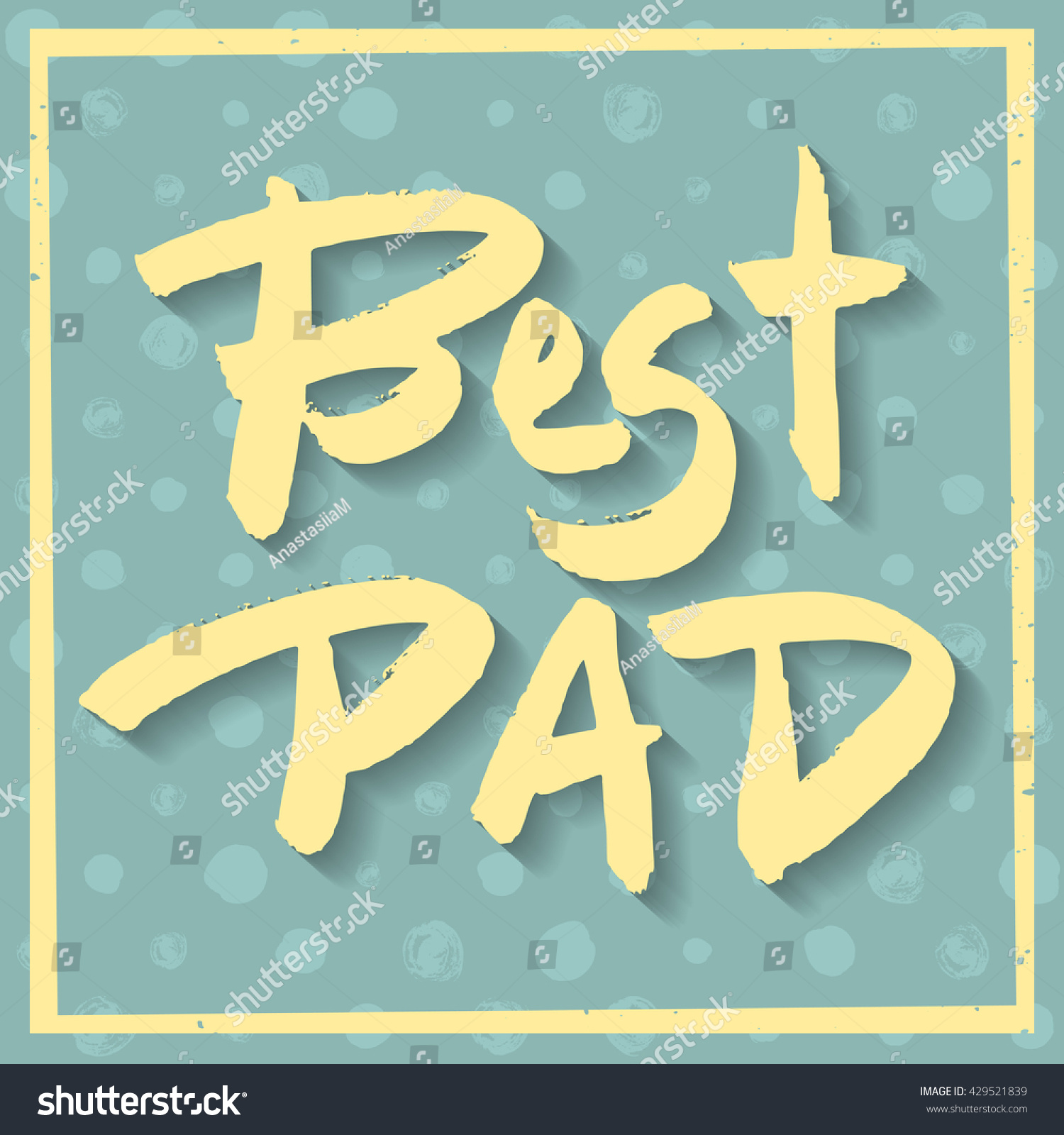 Happy Fathers Day Greeting Card Best Stock Vector 2018 429521839
