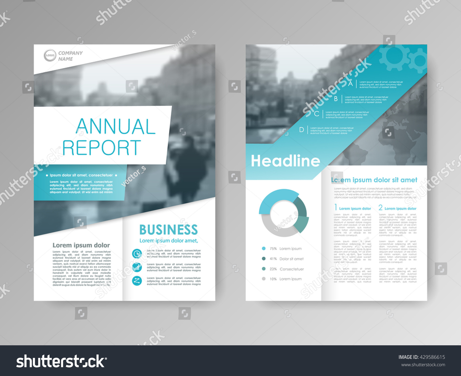 royalty annual report flyer presentation 429586615 stock front page report book cover layout design design layout template in a4 size abstract business templates cover elements infographic stock vector