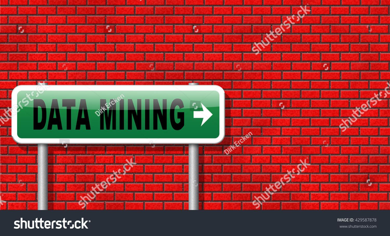 Data Mining Analysis Search Big Dataset Stock Illustration 429587878