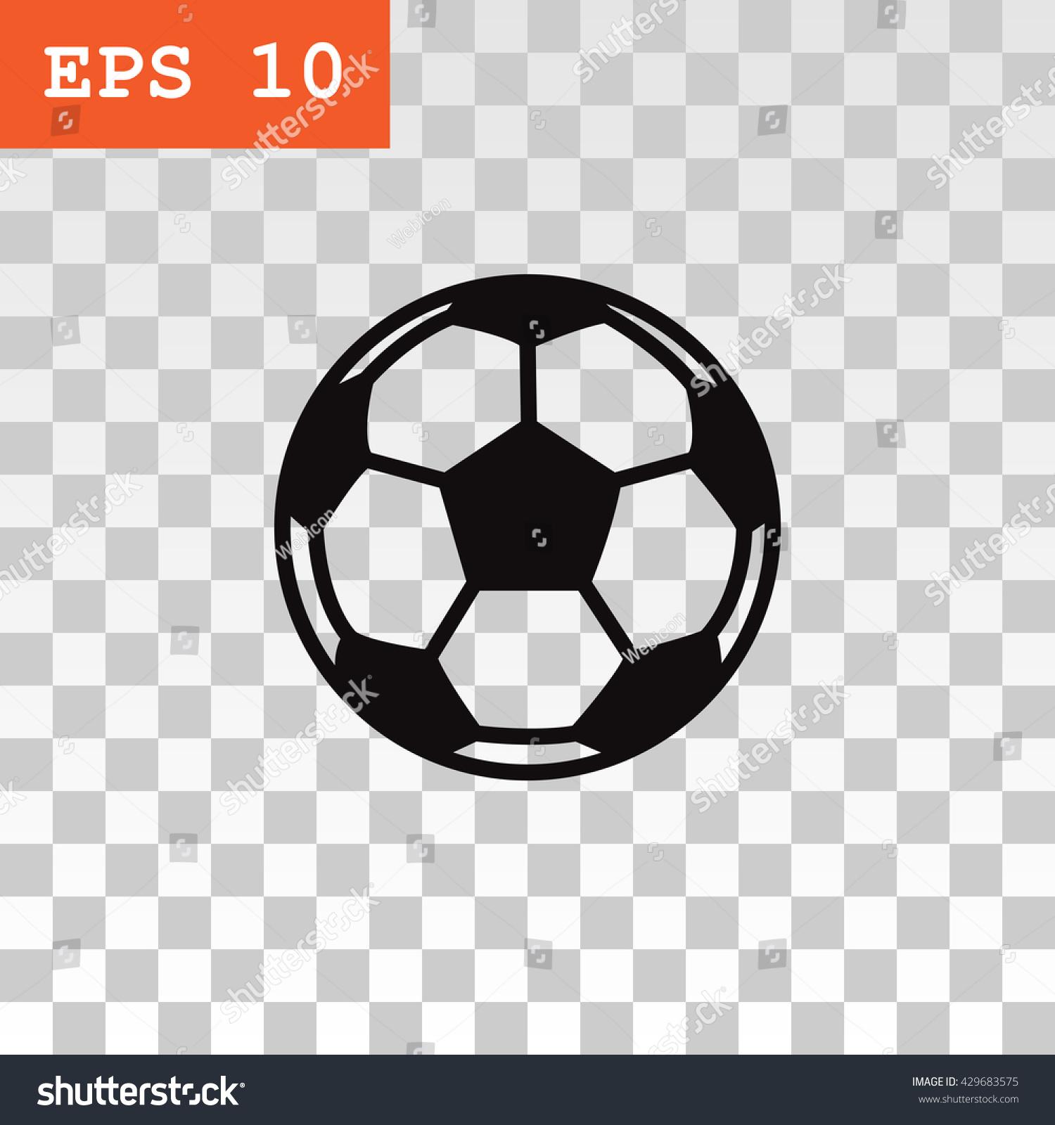 Stokovaya Vektornaya Grafika Soccer Ball Icon Vector Bez