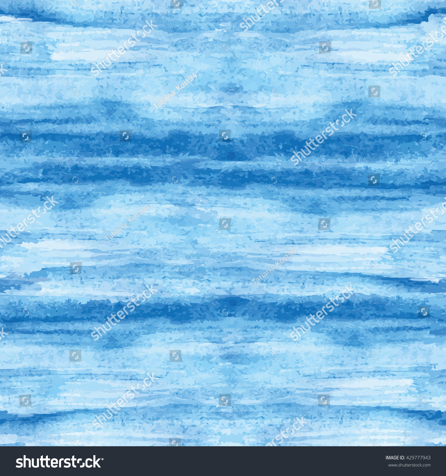 Top Wallpaper Marble Ocean - stock-vector-watercolor-blue-stain-seamless-pattern-vector-hand-painting-background-blue-wavy-ocean-sea-water-429777943  Best Photo Reference_751023.jpg