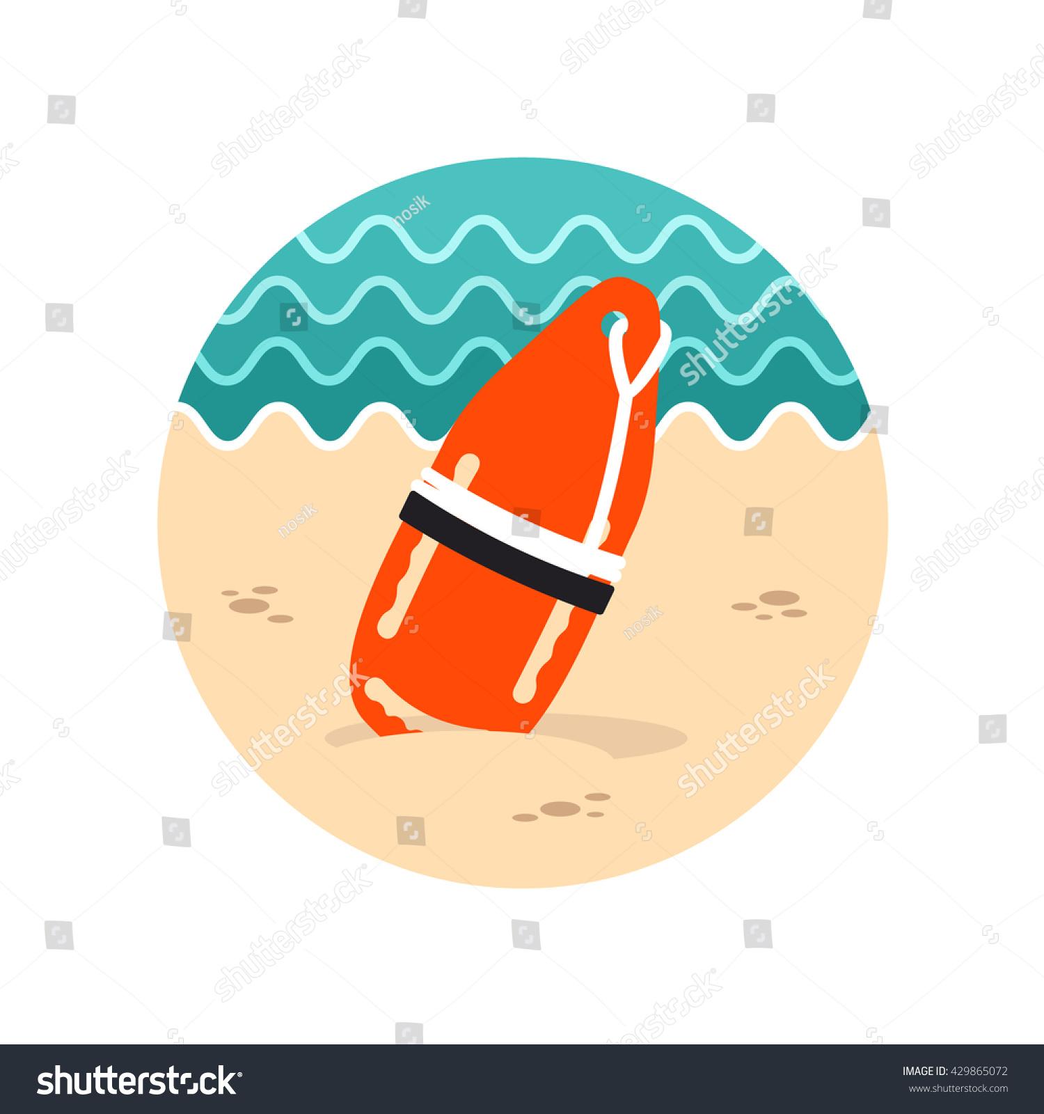 7a18a35b8e9d Support Help Assistance Torpedo Rescue Lifeguard Stock Vector ...