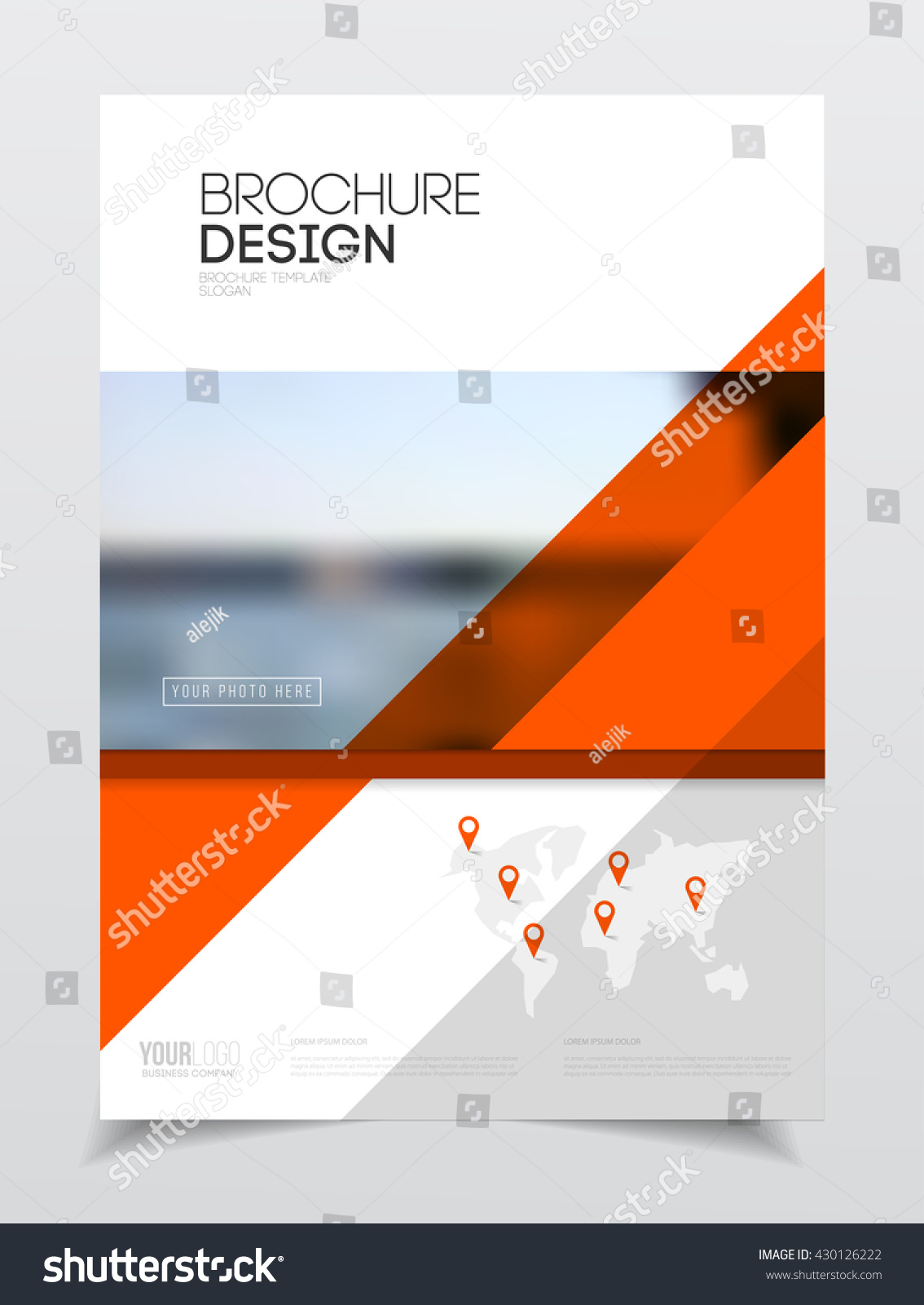 royalty free catalogue cover design annual report 430126222 stock