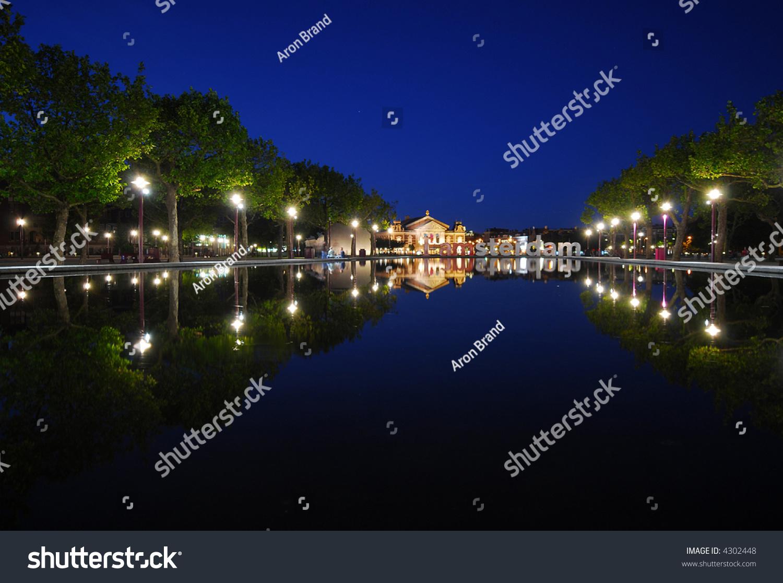 Amsterdam Reichsmuseum Night Famous Art Museum Stock Photo (Edit Now