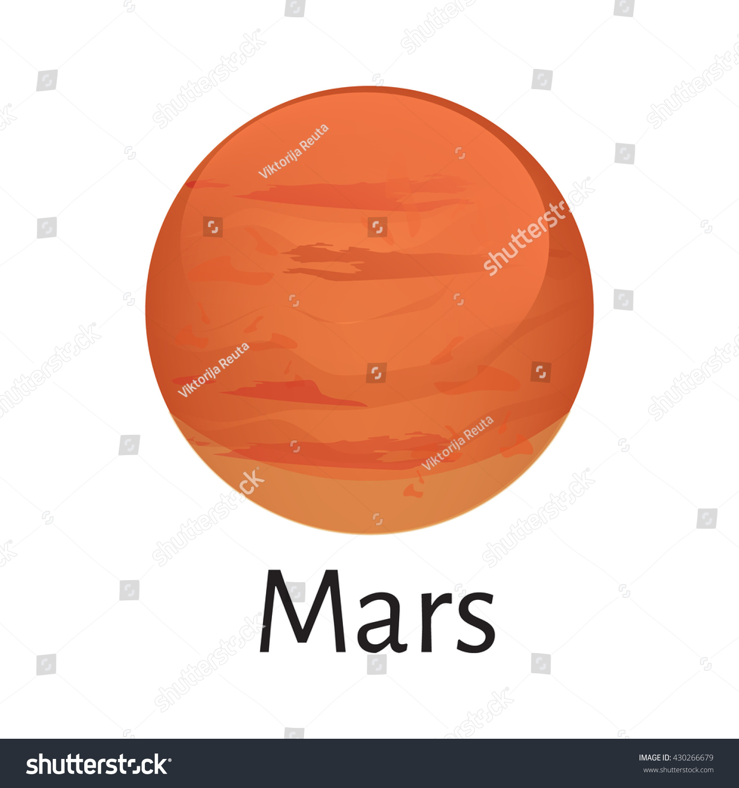 mars planet vector - photo #8