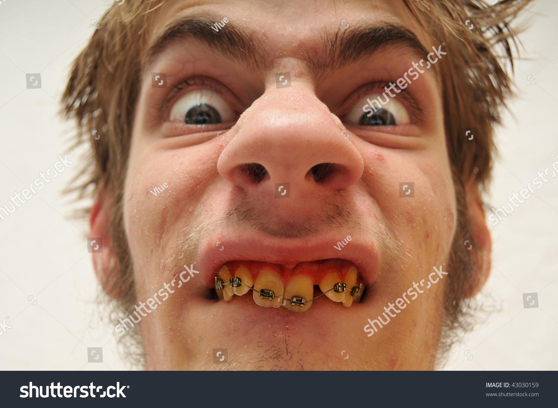 black guy smiling funny