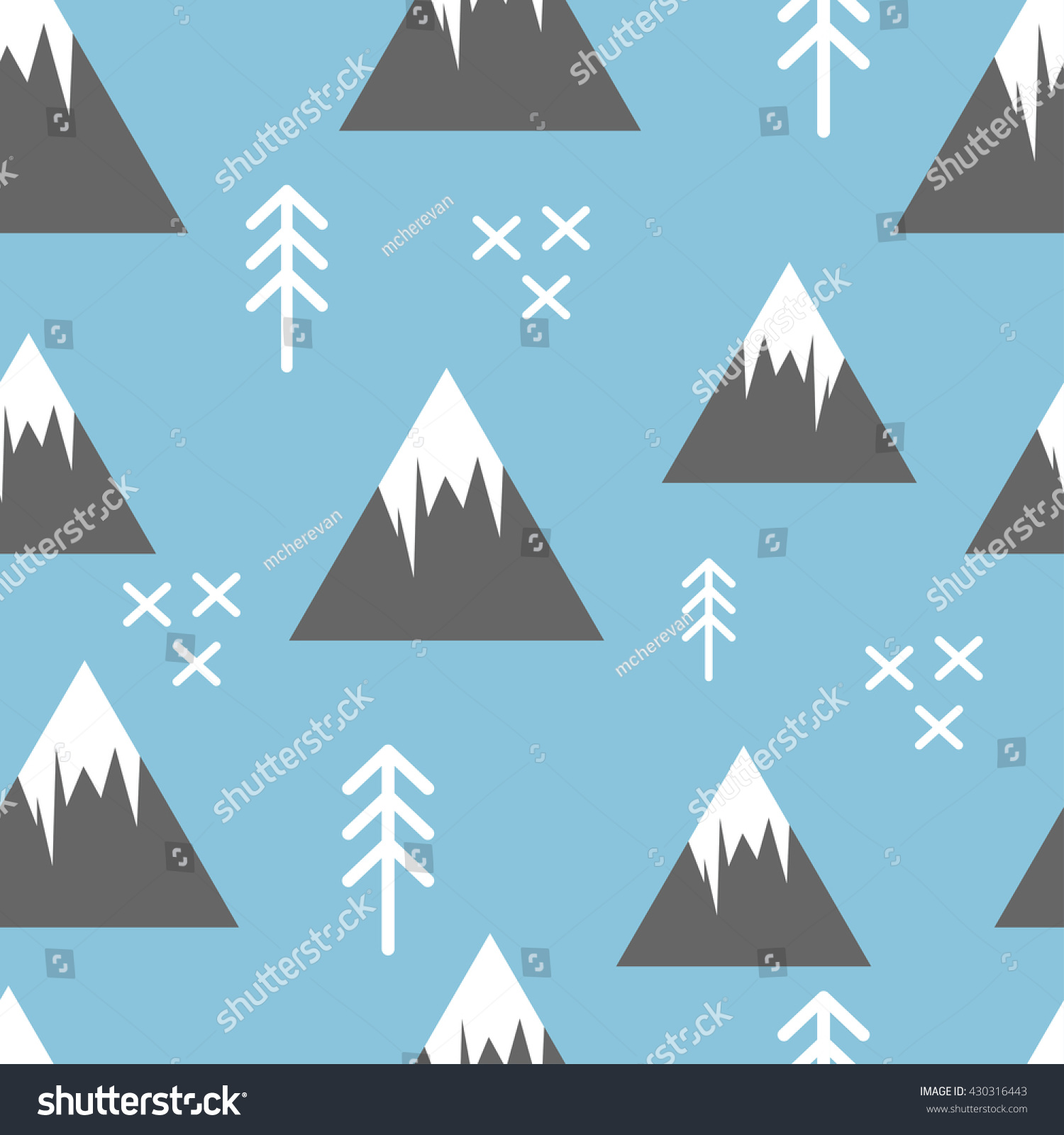 Best Wallpaper Mountain Pattern - stock-vector-seamless-pattern-with-abstract-simple-mountains-and-fir-trees-baby-and-child-clothing-wallpaper-430316443  Snapshot_645176.jpg