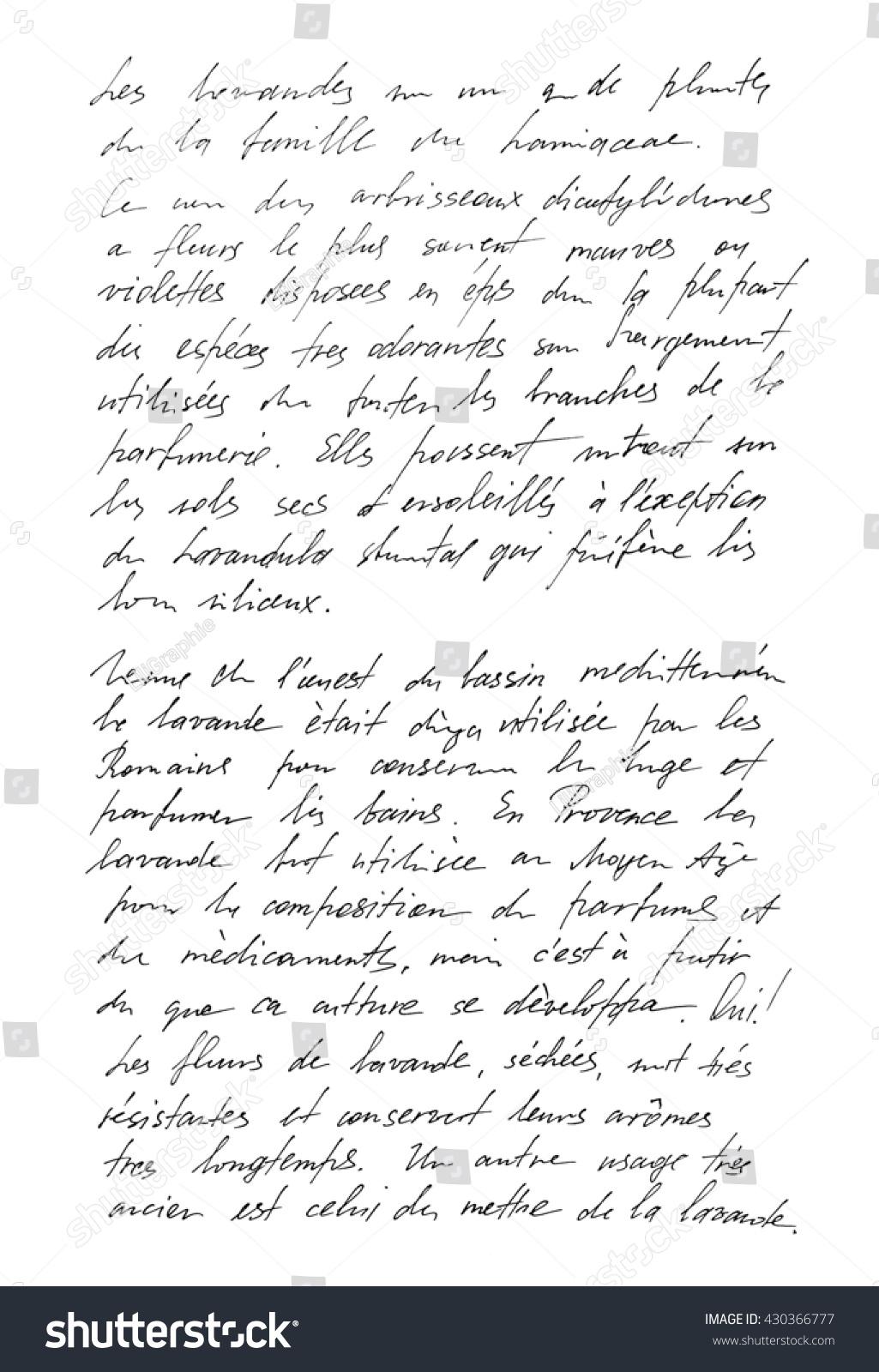 Franzosisch text schreiben
