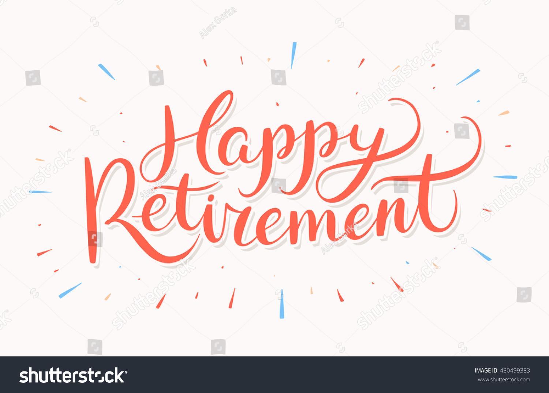 Happy retirement banner stock vector 430499383 shutterstock happy retirement banner stopboris Images