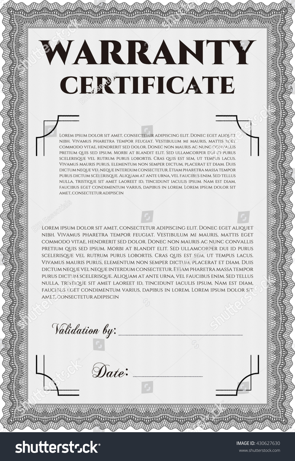 Limited warranty template sample eula template termsfeed 8 1 2 x product warranty template contegri com yelopaper Gallery