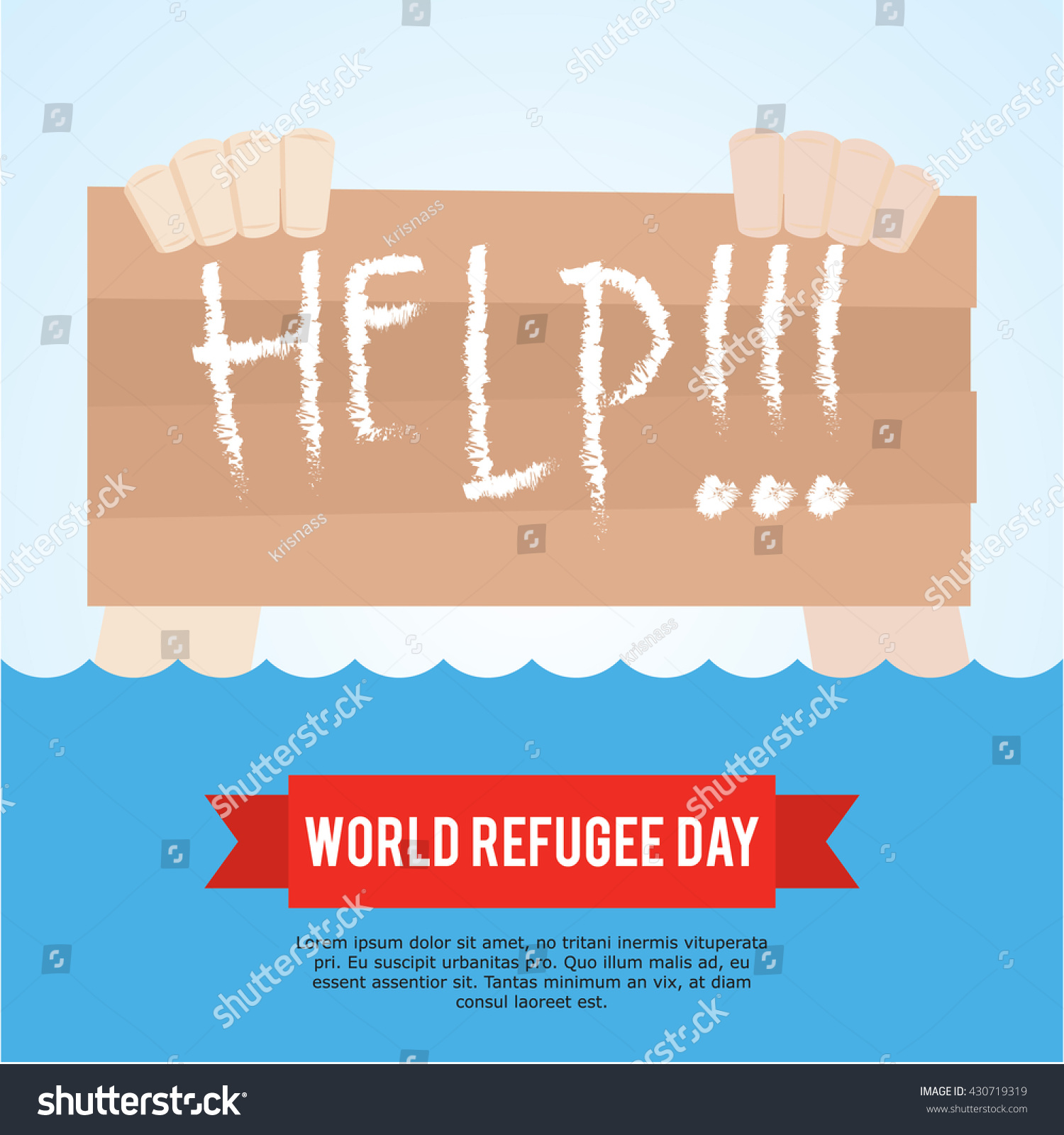 world refugee day campaign poster refugee stock vector royalty free