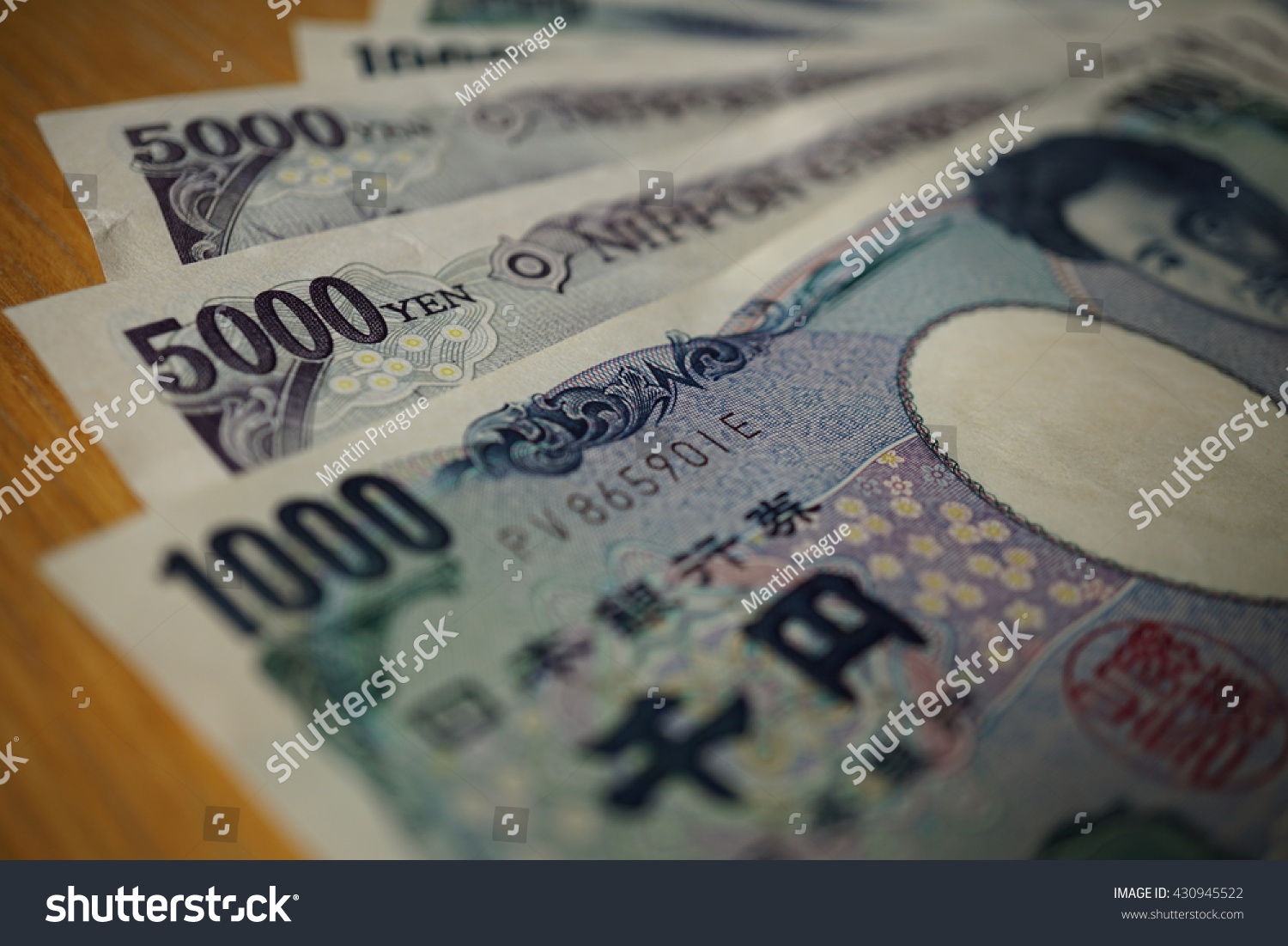 Japanese Currency Yen Asian Symbols Form Stock Photo Edit Now