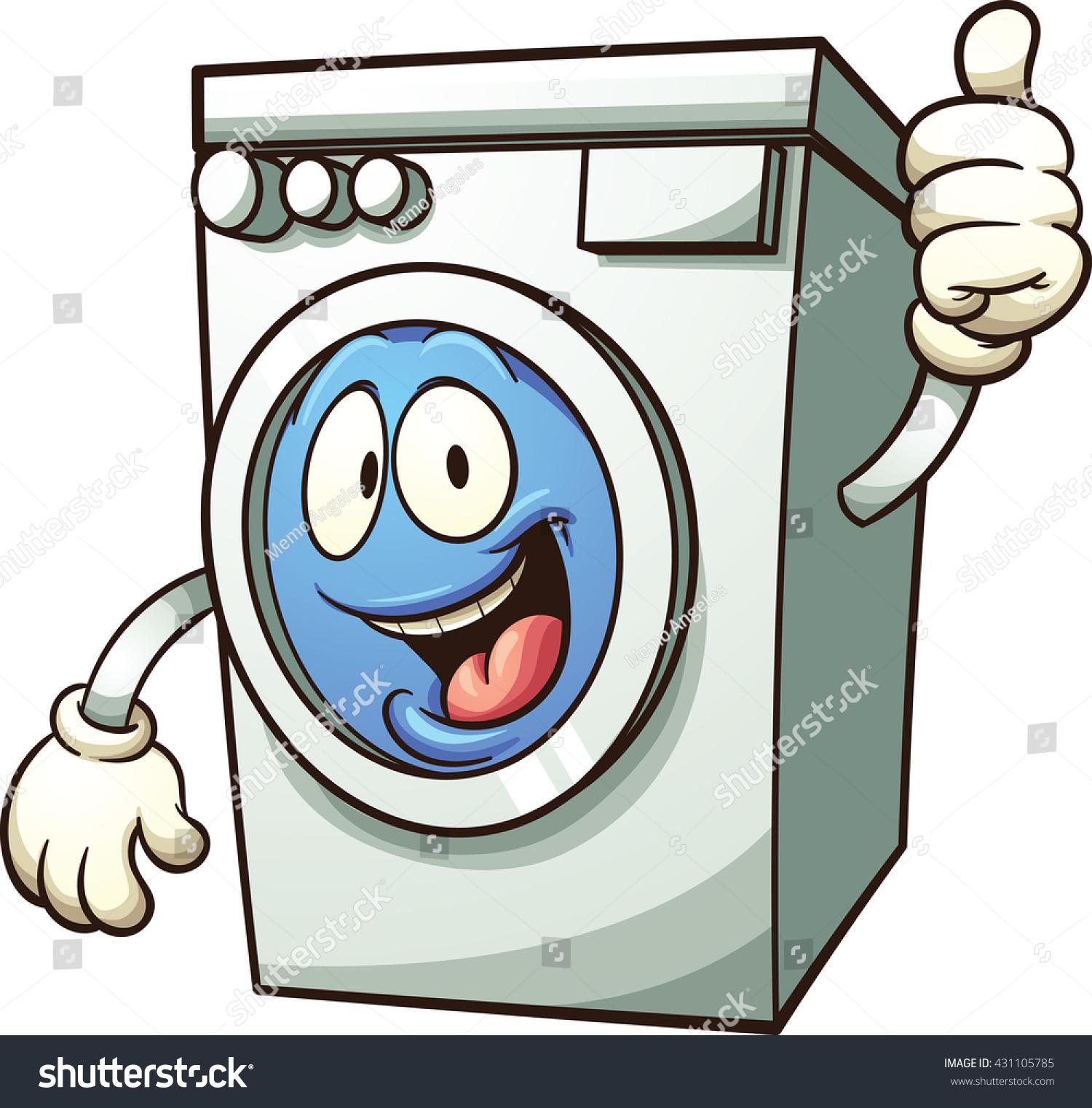 laundry machine clip