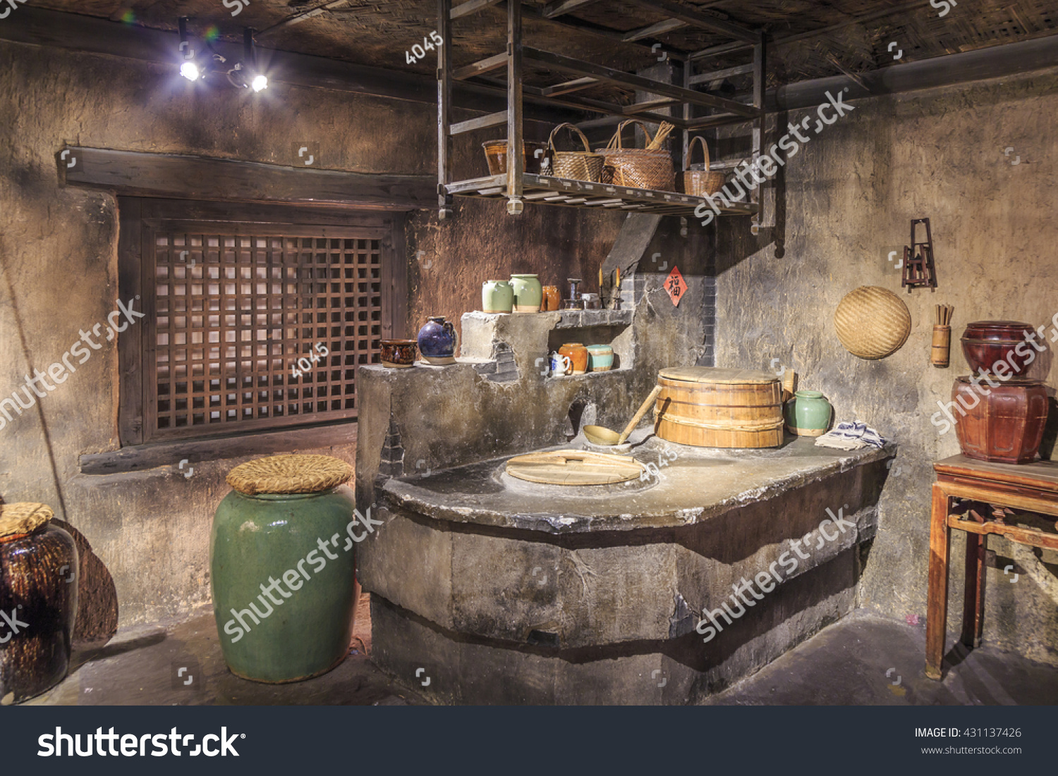 Beautiful Ancient Chinese Kitchen