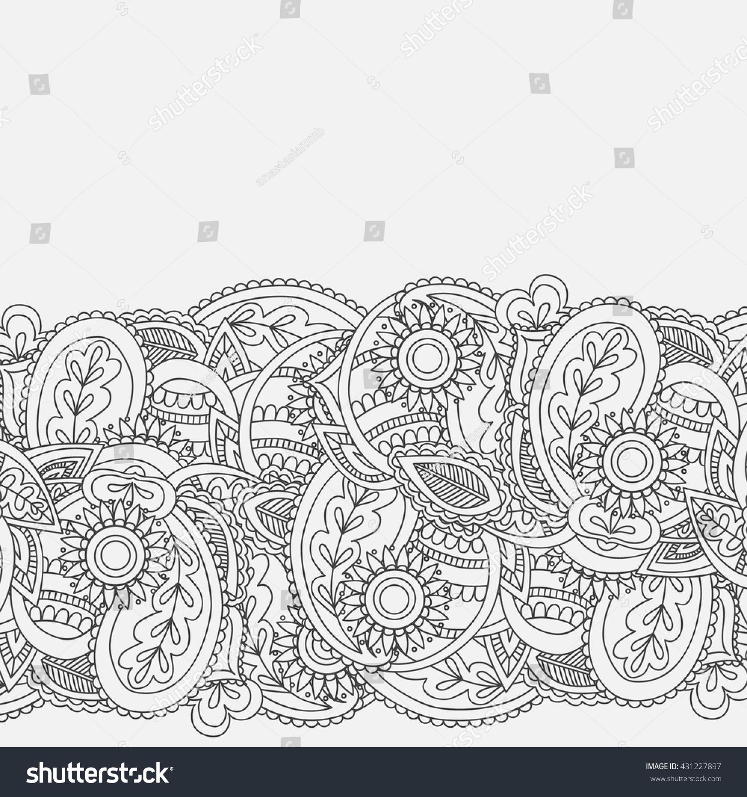 Henna mehndi card template mehndi invitation stock vector henna mehndi card template mehndi invitation design element for decoration invitations and cards stopboris Images