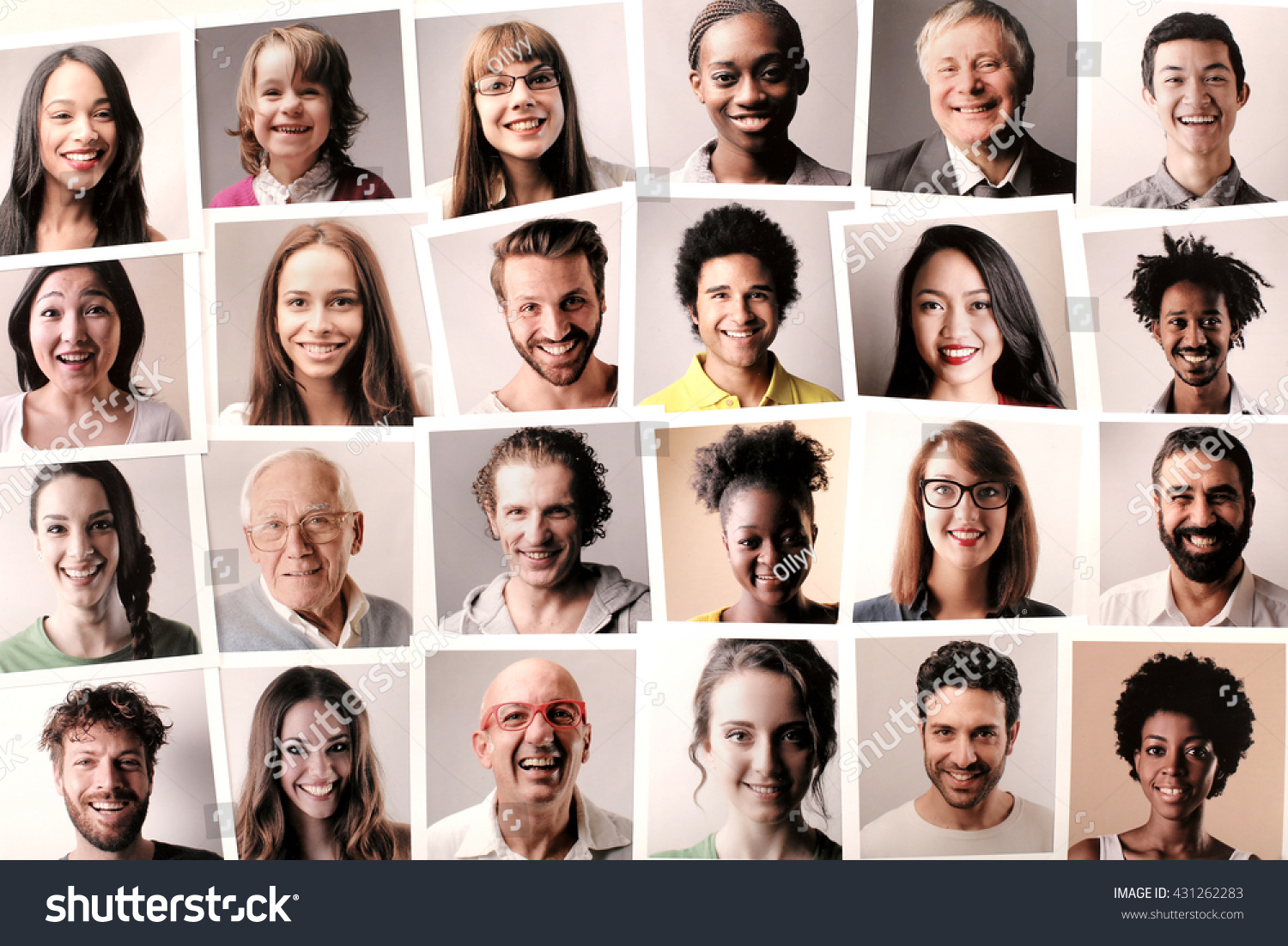 people are different You can have two people who are different ethnicities who have similar facial characteristics it takes a bit more skill to recognize this.