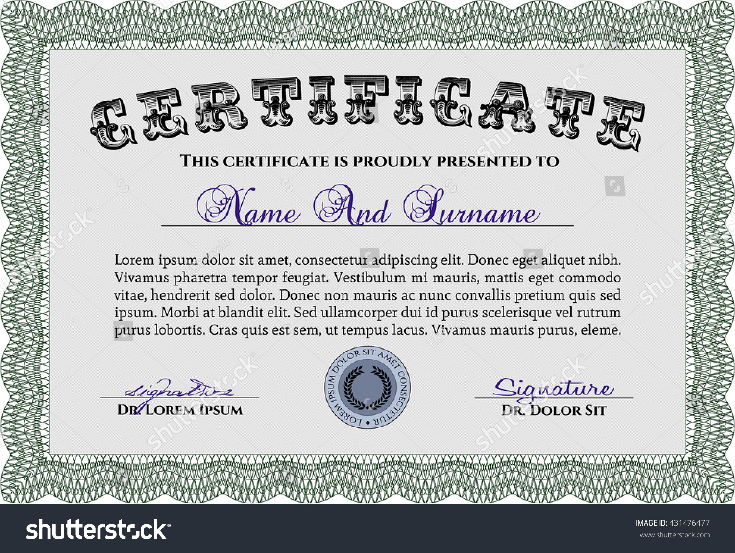 Amazing Quality Assurance Certificate Template Gallery - Examples ...