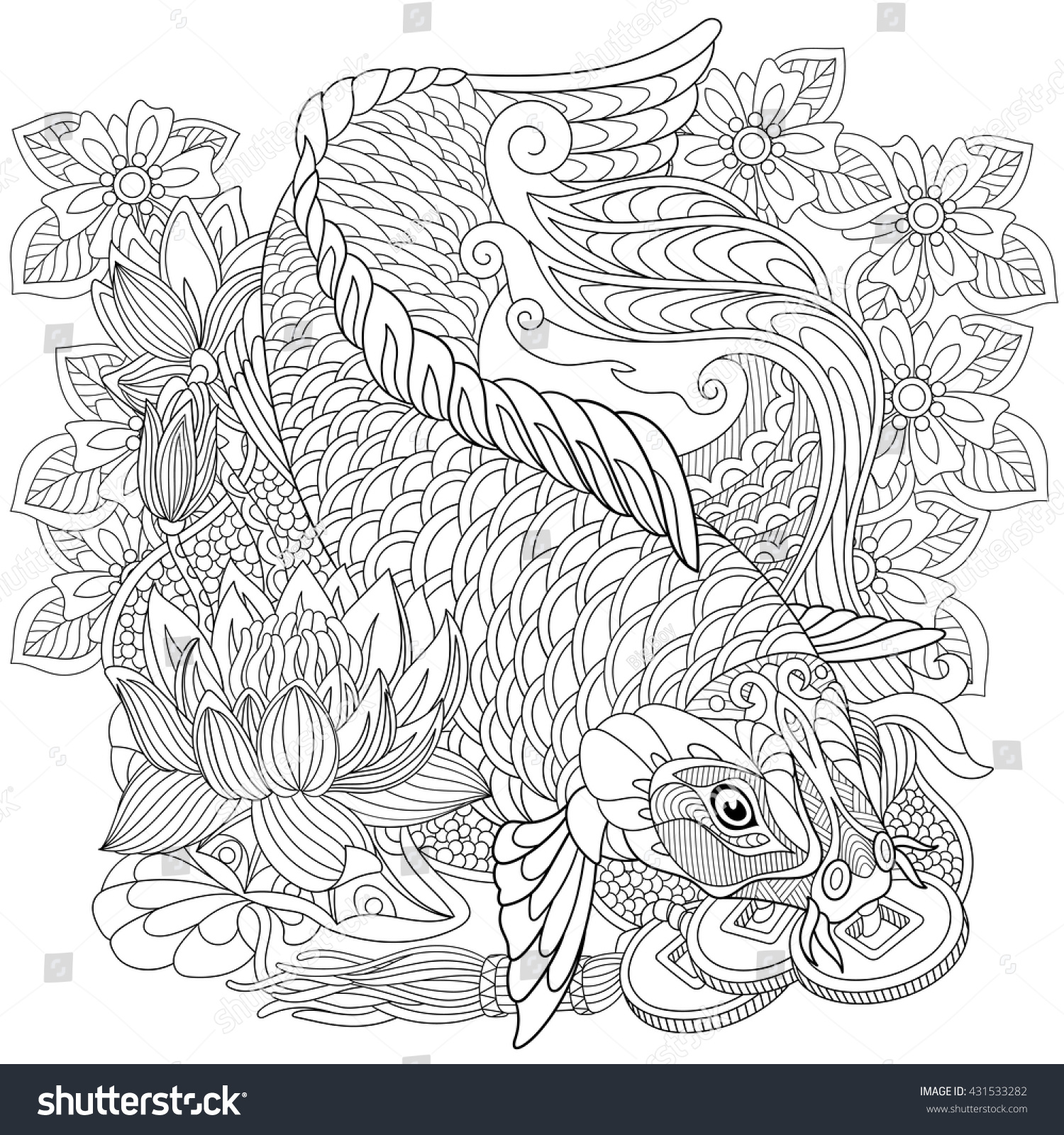 Online image photo editor shutterstock editor Coloring book background