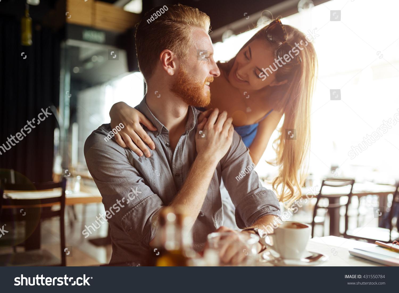flirt with woman